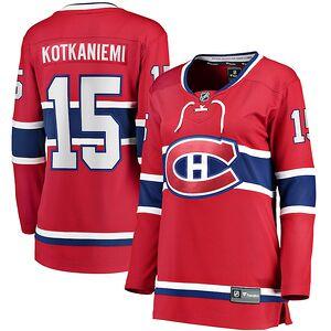 fd072dc43b9 Jesperi Kotkaniemi Montreal Canadiens Fanatics Branded Women's Home  Breakaway Player Jersey – Red