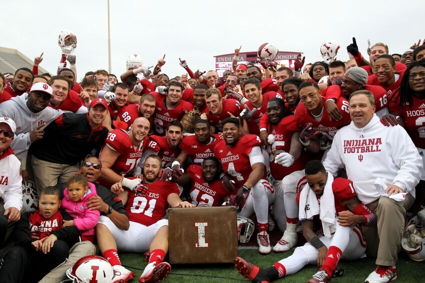 Diamont's Late Score Lifts IU Over Purdue 23-16