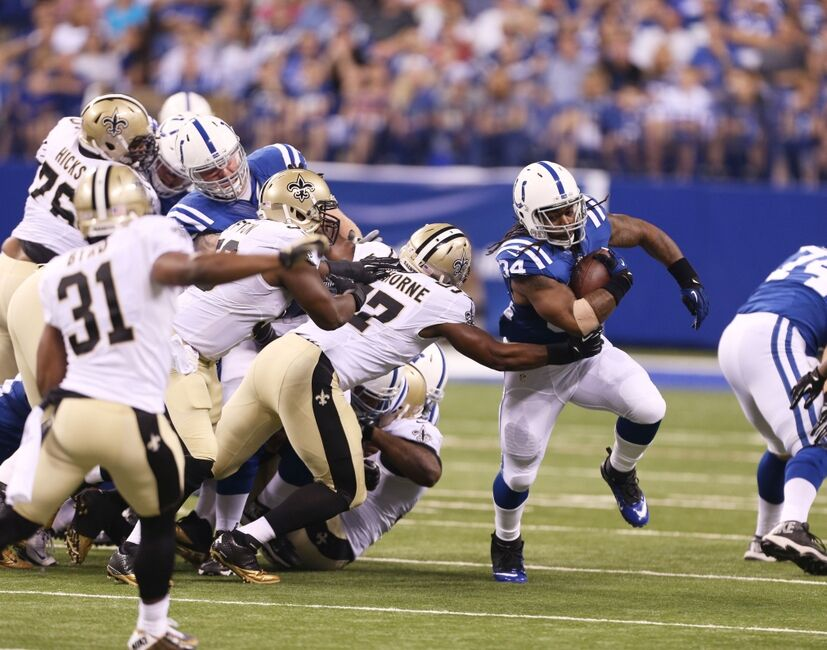 FINAL: Indianapolis Colts Fall to New Orleans Saints 23-17