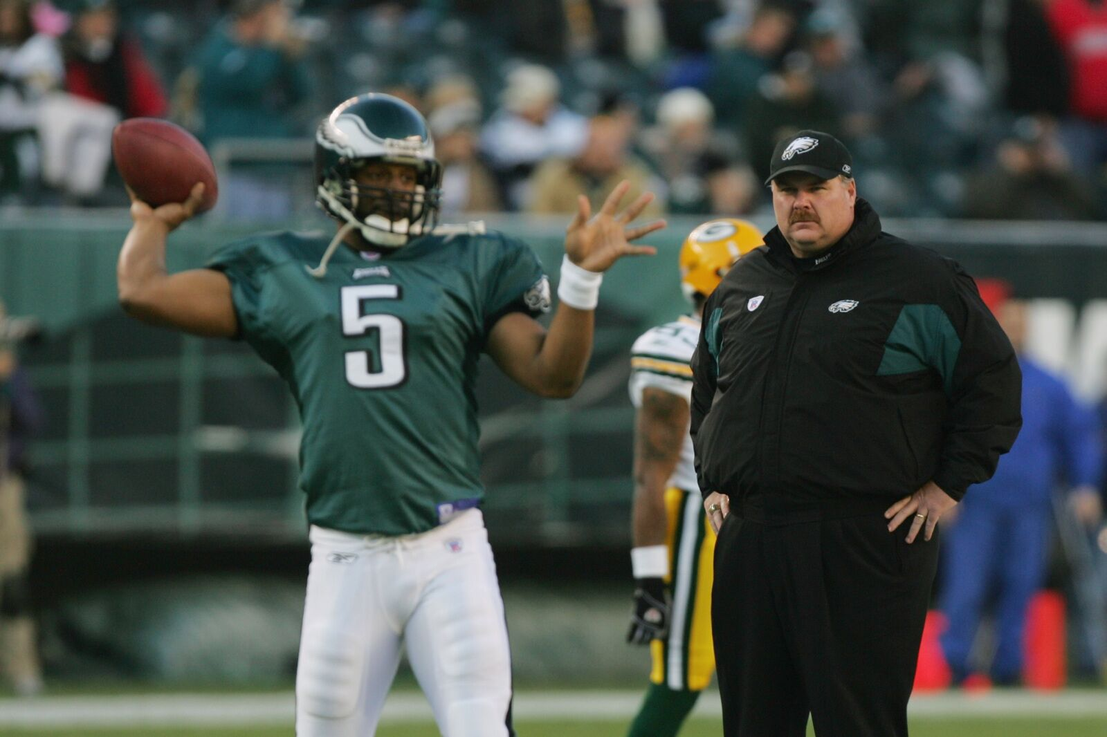 Philadelphia Eagles: Andy Reid was in town supporting former players
