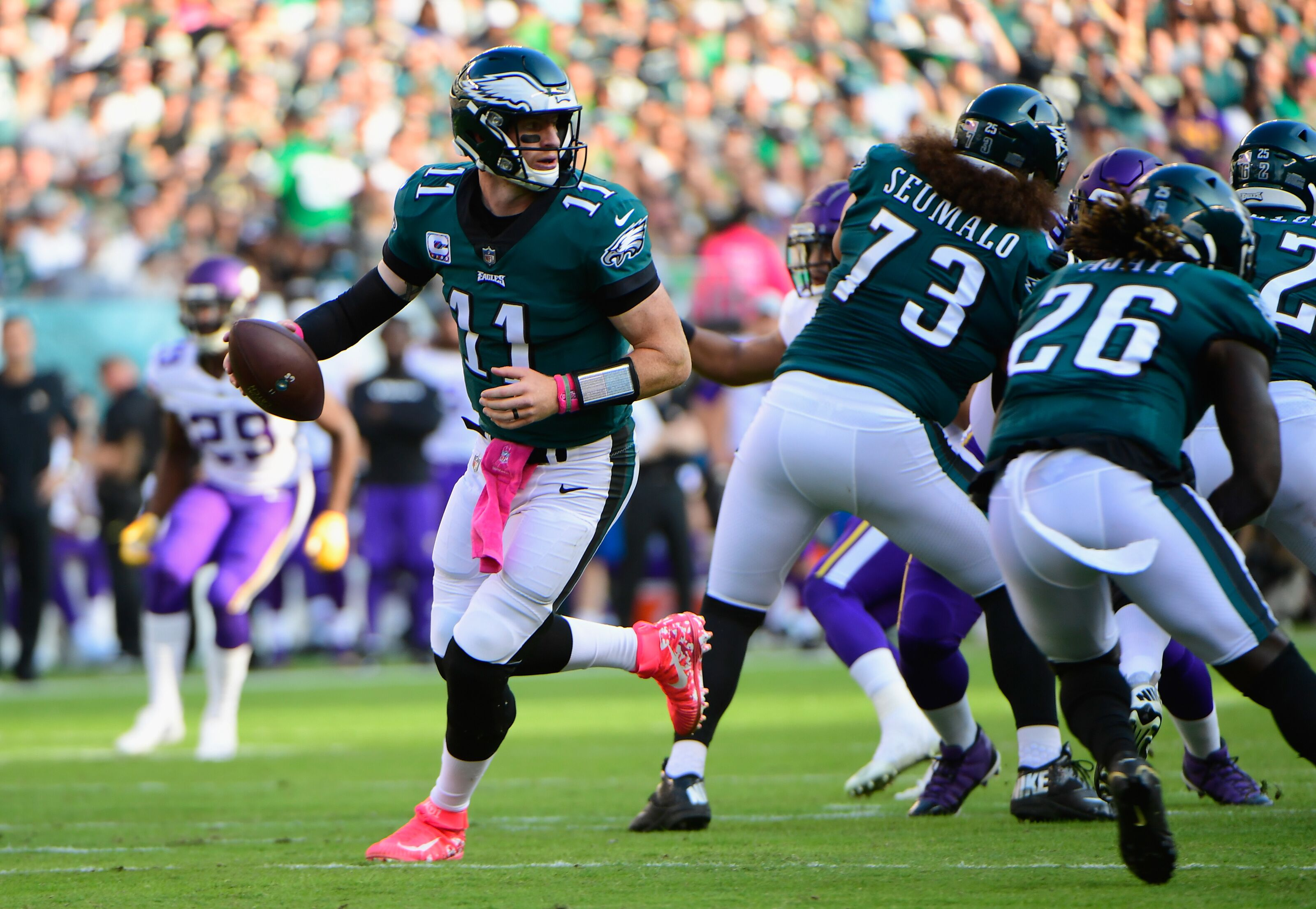 How much pressure are Philadelphia Eagles under in 2019?