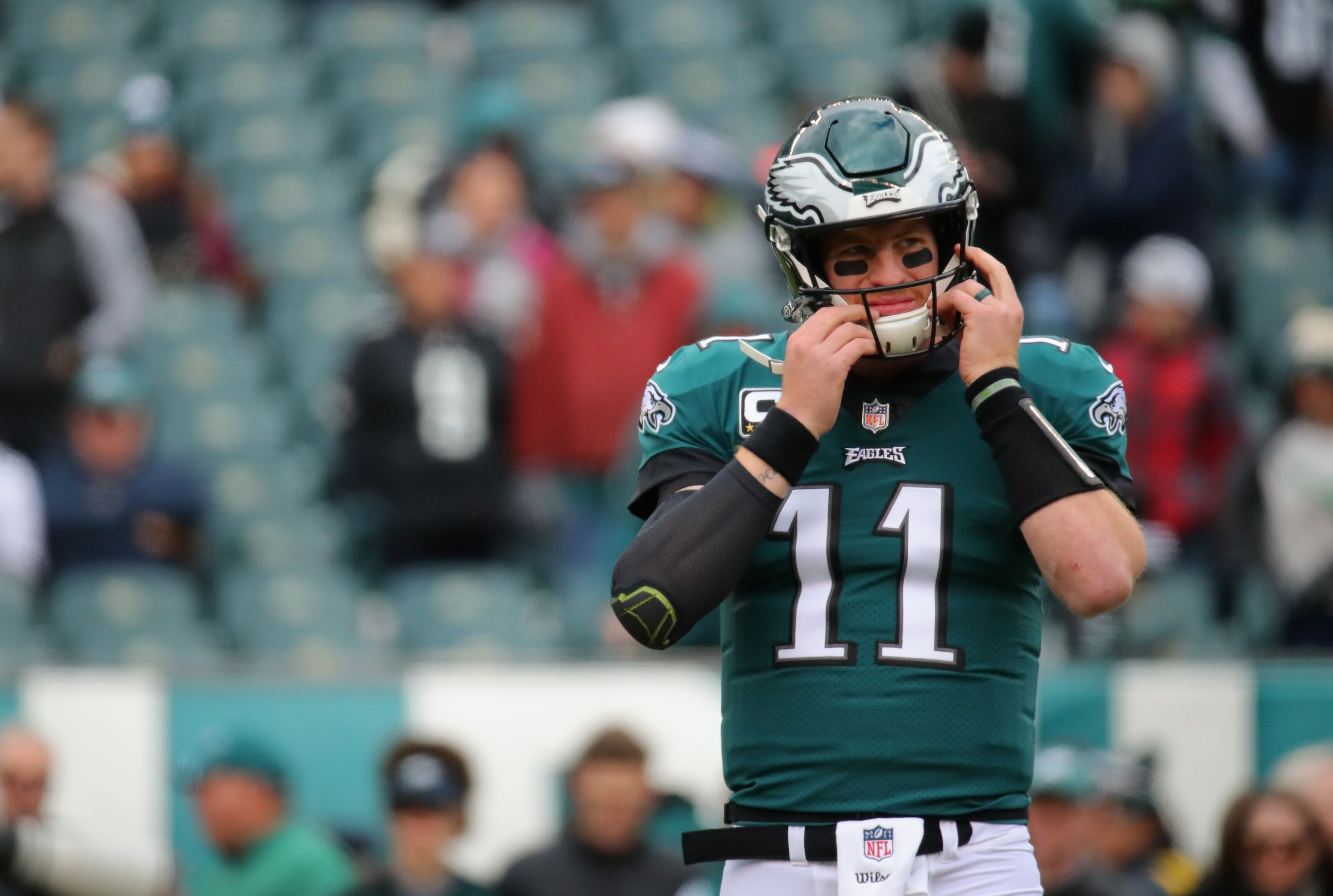 Carson Wentz is looking to follow the footsteps of Tom Brady to improve health