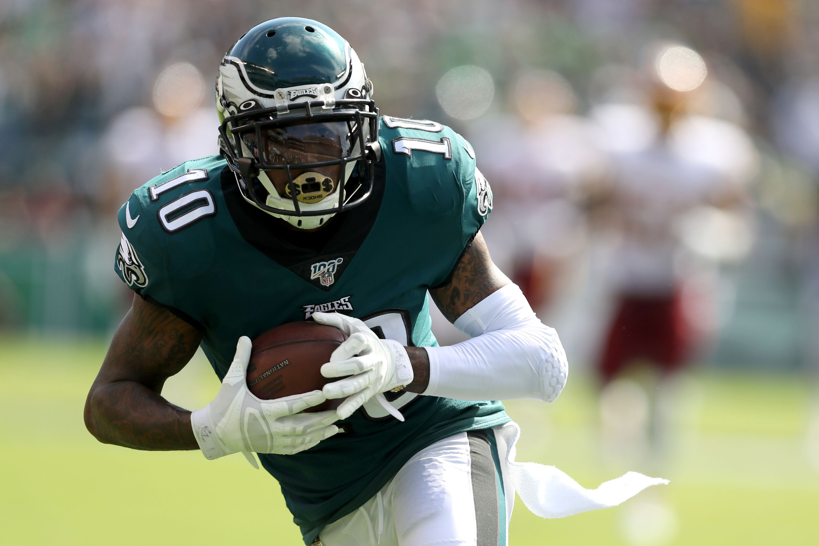 DeSean Jackson's Eagles homecoming came with a price to pay