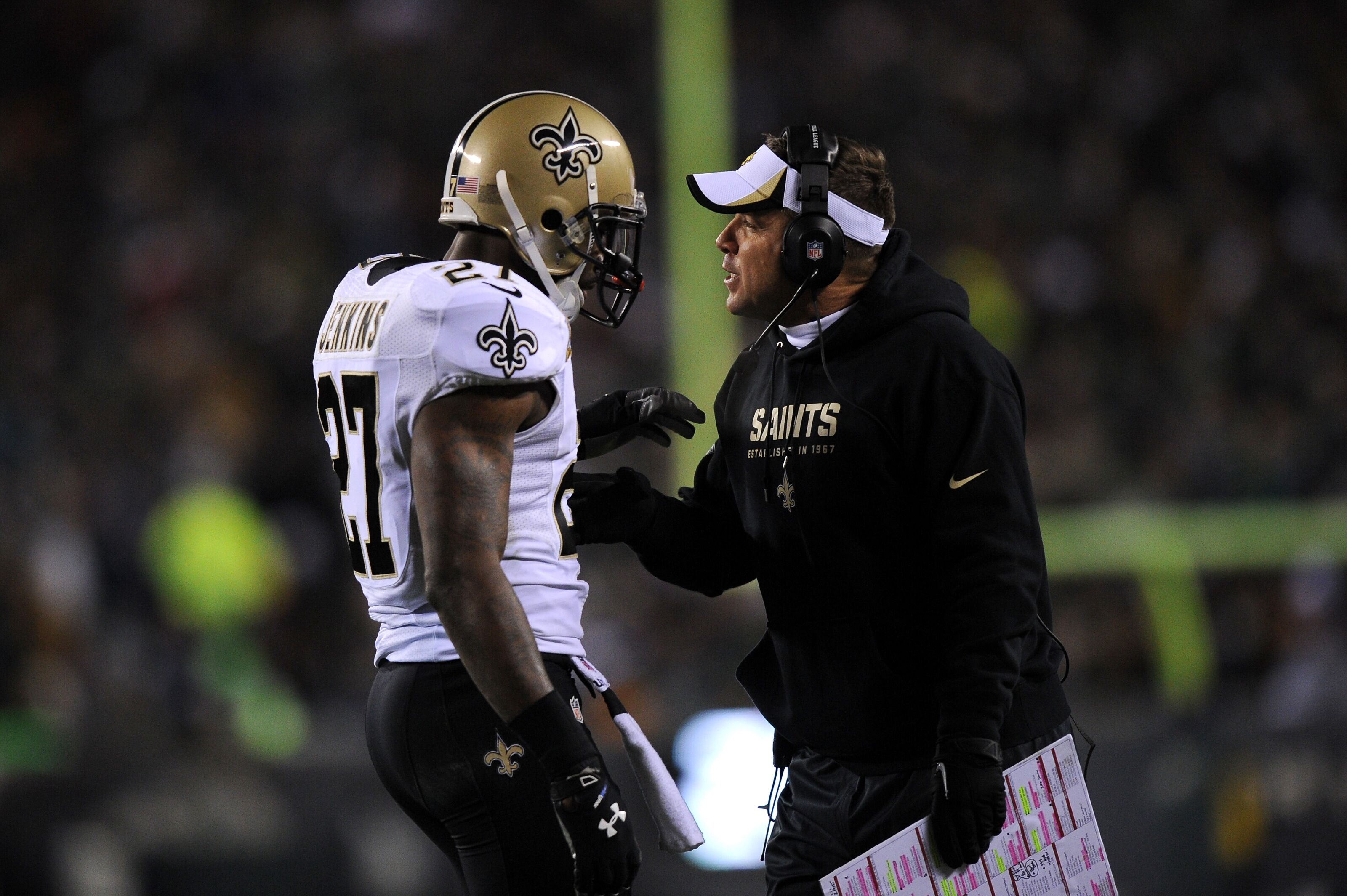 Sean Payton regrets letting Malcolm Jenkins leave New Orleans 49ad8e738