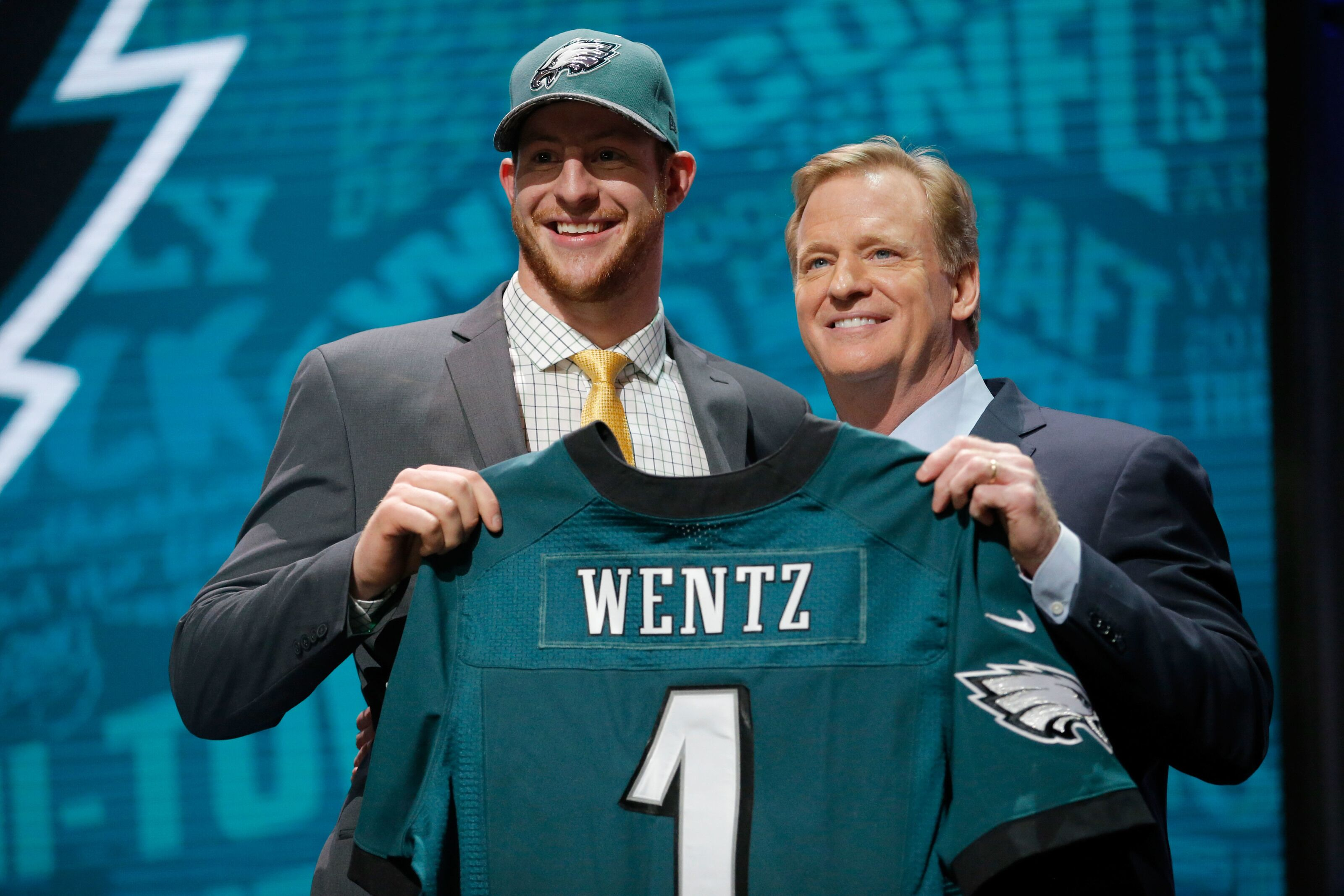 There's a good chance the Eagles draft a quarterback this year