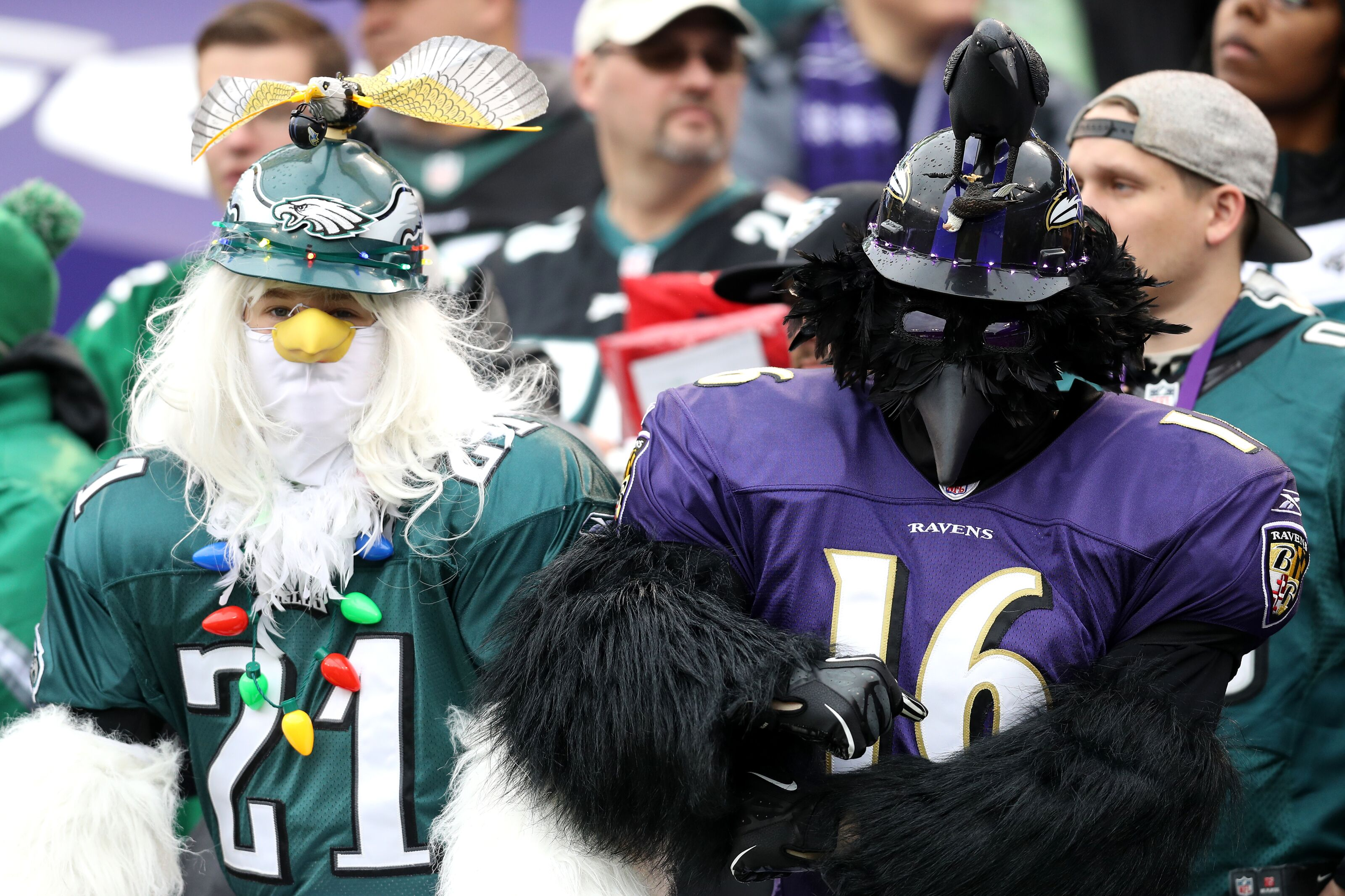 Philadelphia Eagles begin practice sessions with Ravens this week