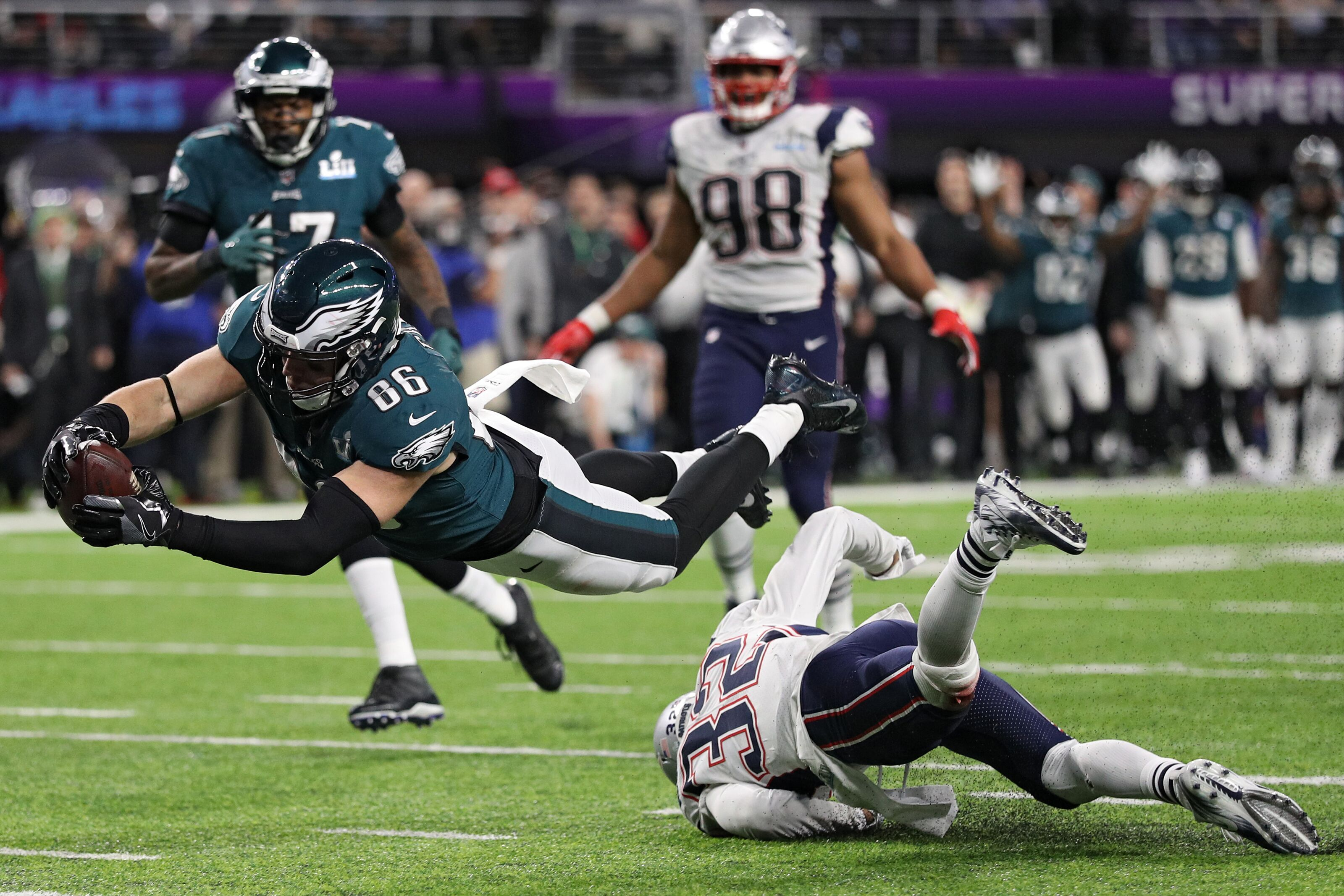 Flashback Friday Eagles Win Super Bowl LII Capture The Lombardi Trophy