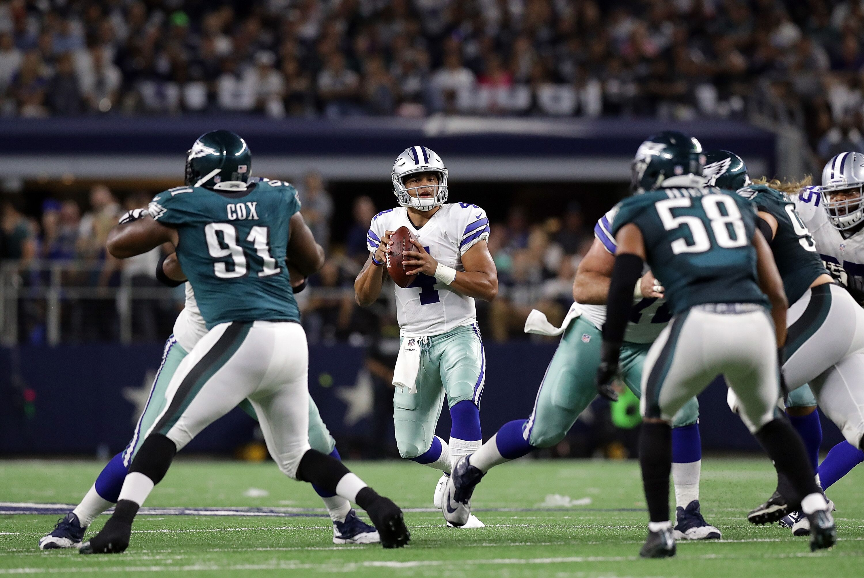 Image result for dallas cowboys eagles pictures