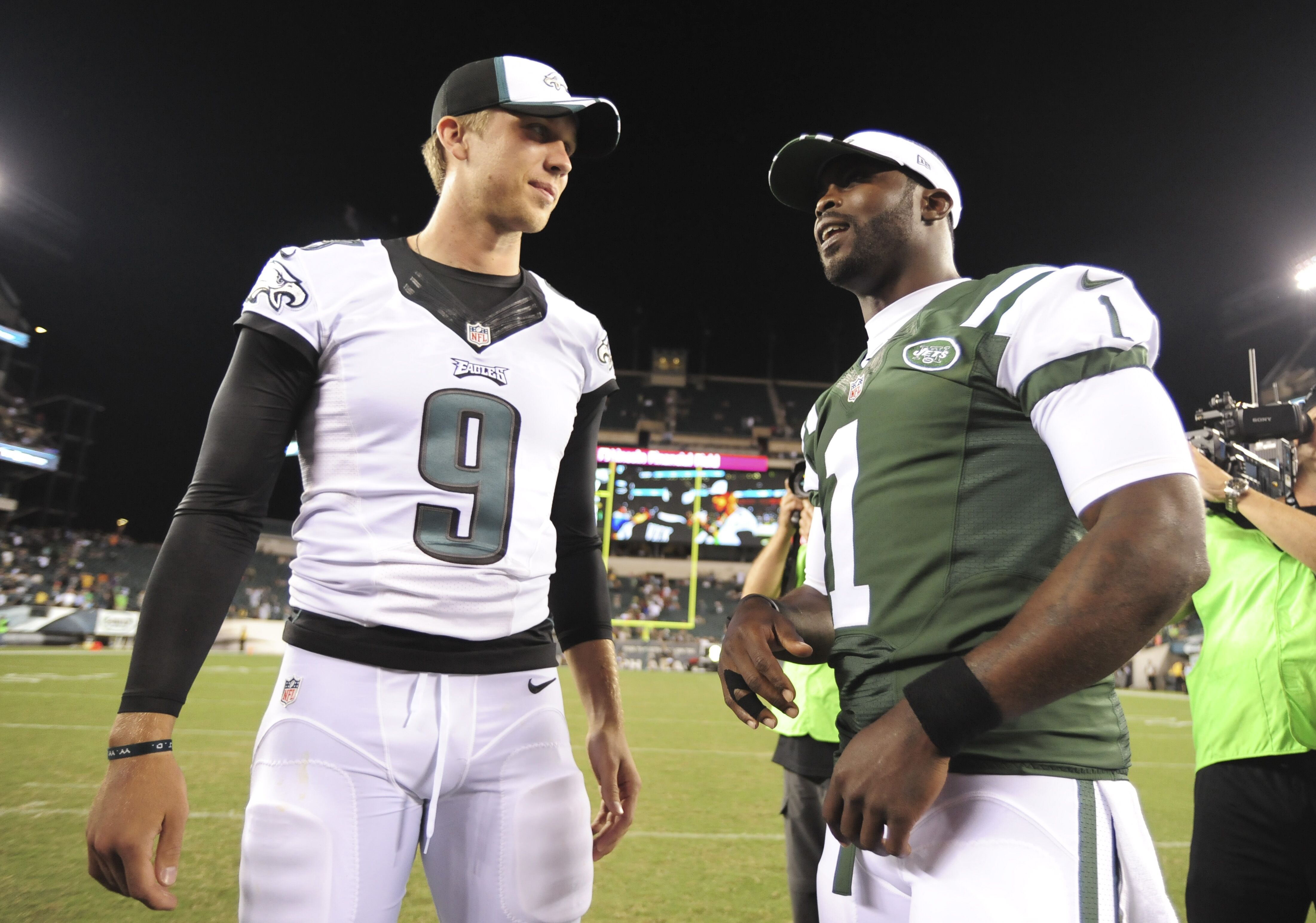 5847a428e15 Mike Vick believes Eagles should keep Nick Foles as a backup for 2019