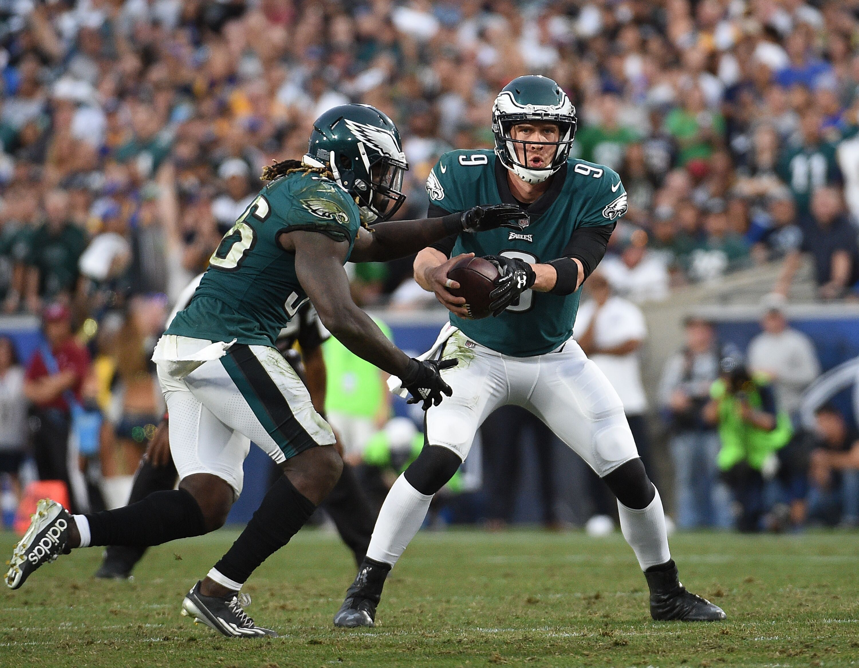 181b945f497 The fate of the Philadelphia Eagles is now in the hands of Nick Foles