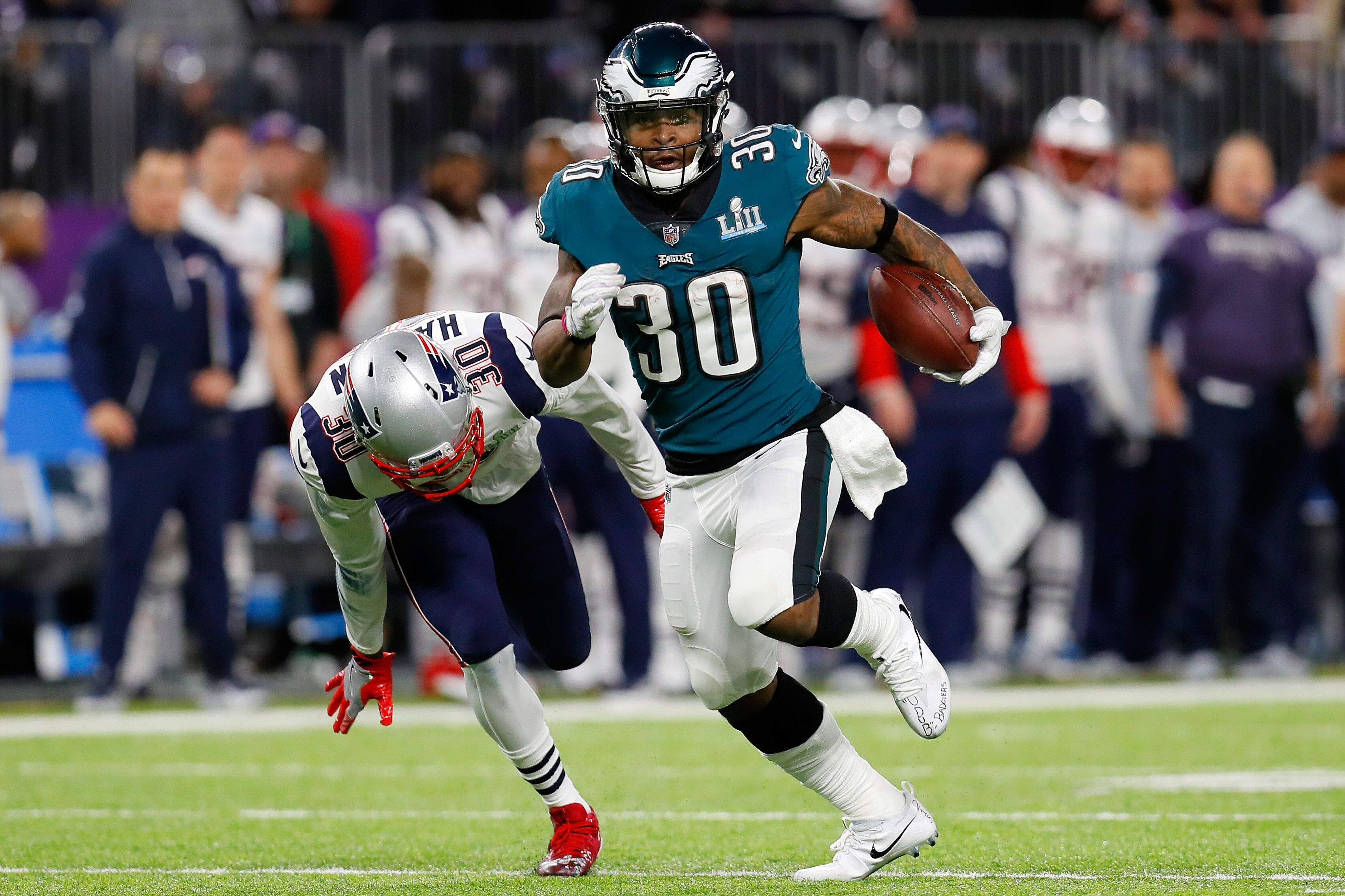 96a9b5cf0 Is Corey Clement the future workhorse of the Eagles backfield