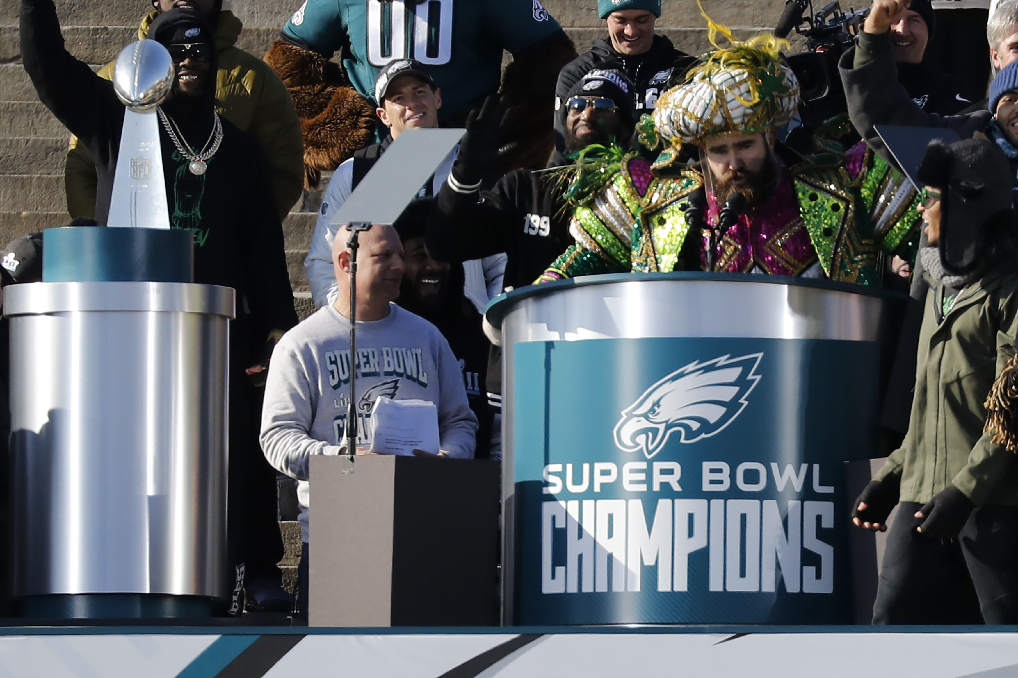 886c8a27962bee Flashback Friday: Jason Kelce delivers his famous Super Bowl speech