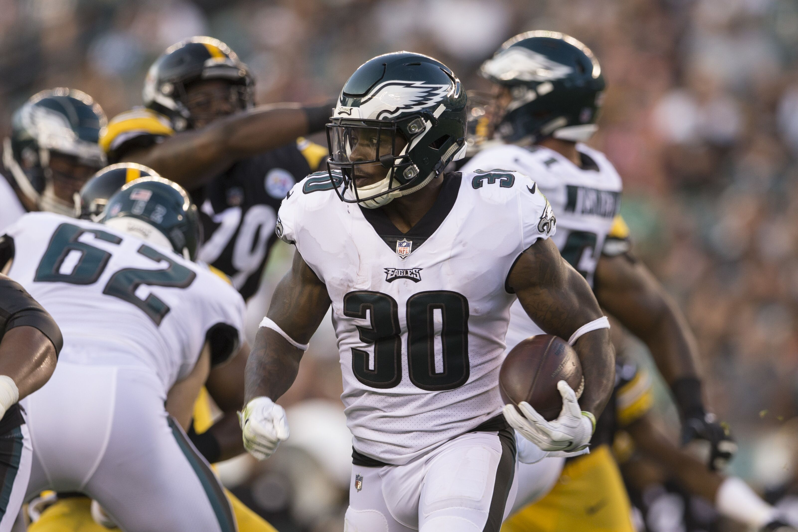 Corey Clement blames his struggles on a lack of carries