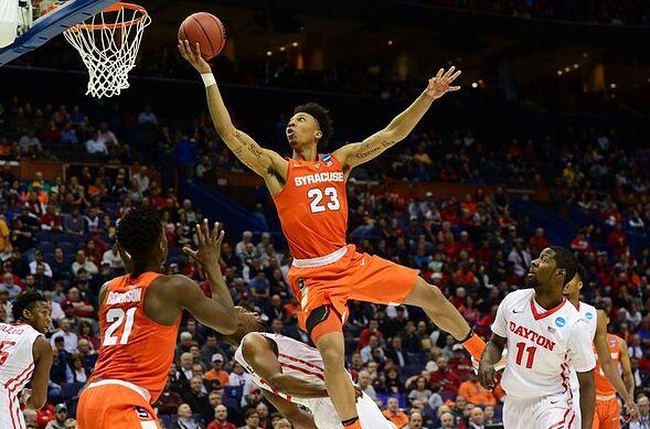 Syracuse Basketball Upsets Dayton 70-51