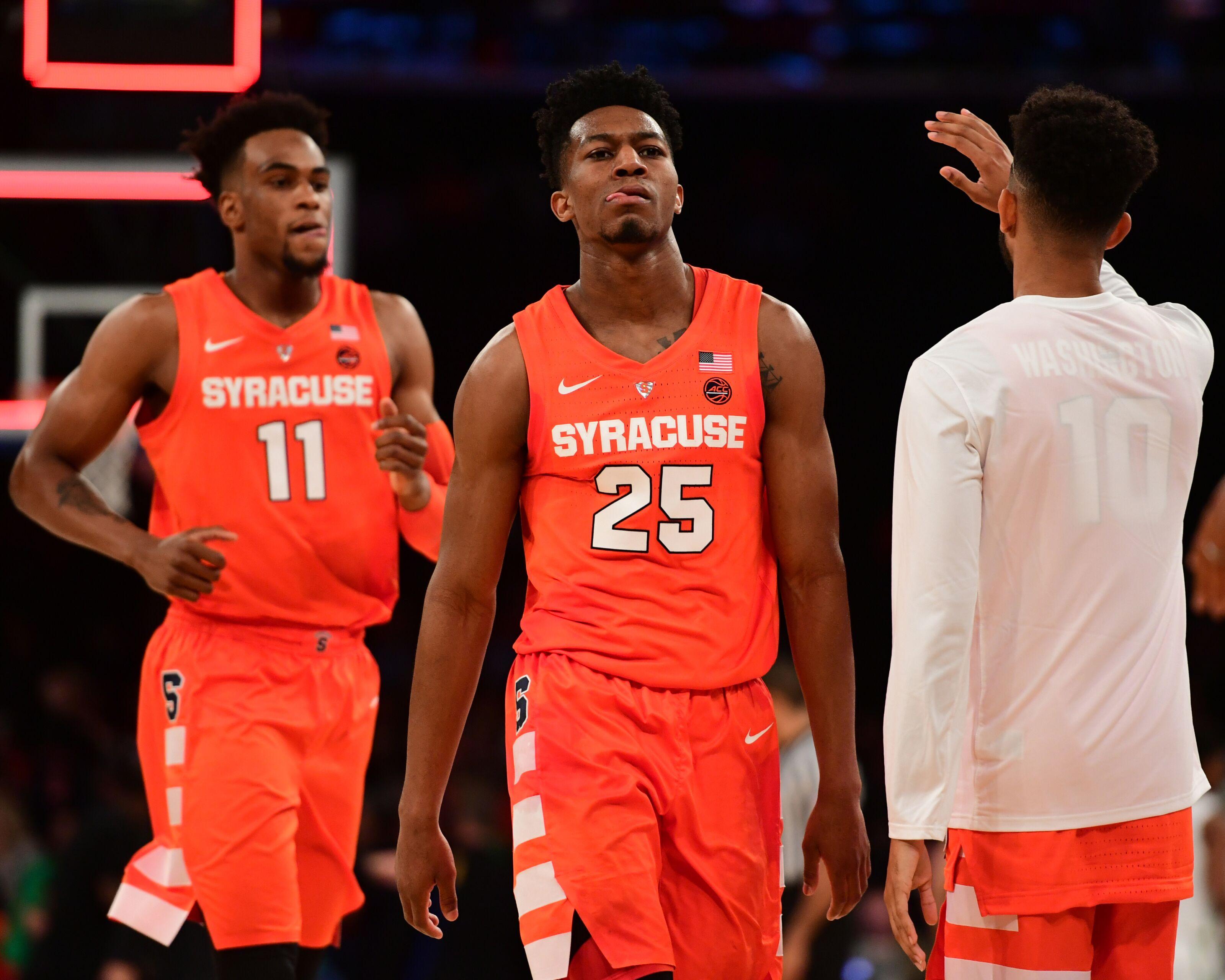 another chance b454a 29dd3 Syracuse Basketball: Tyus Battle, Oshae Brissett NBA Draft ...