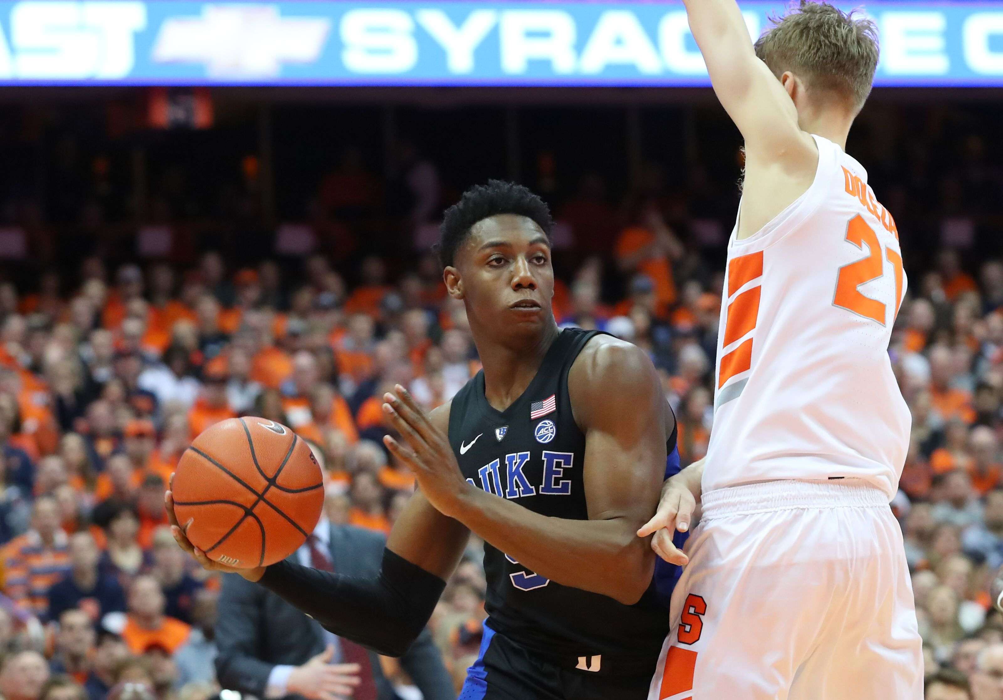 Syracuse Basketball Orange Lose In Instant Classic Vs Duke Blue Devils