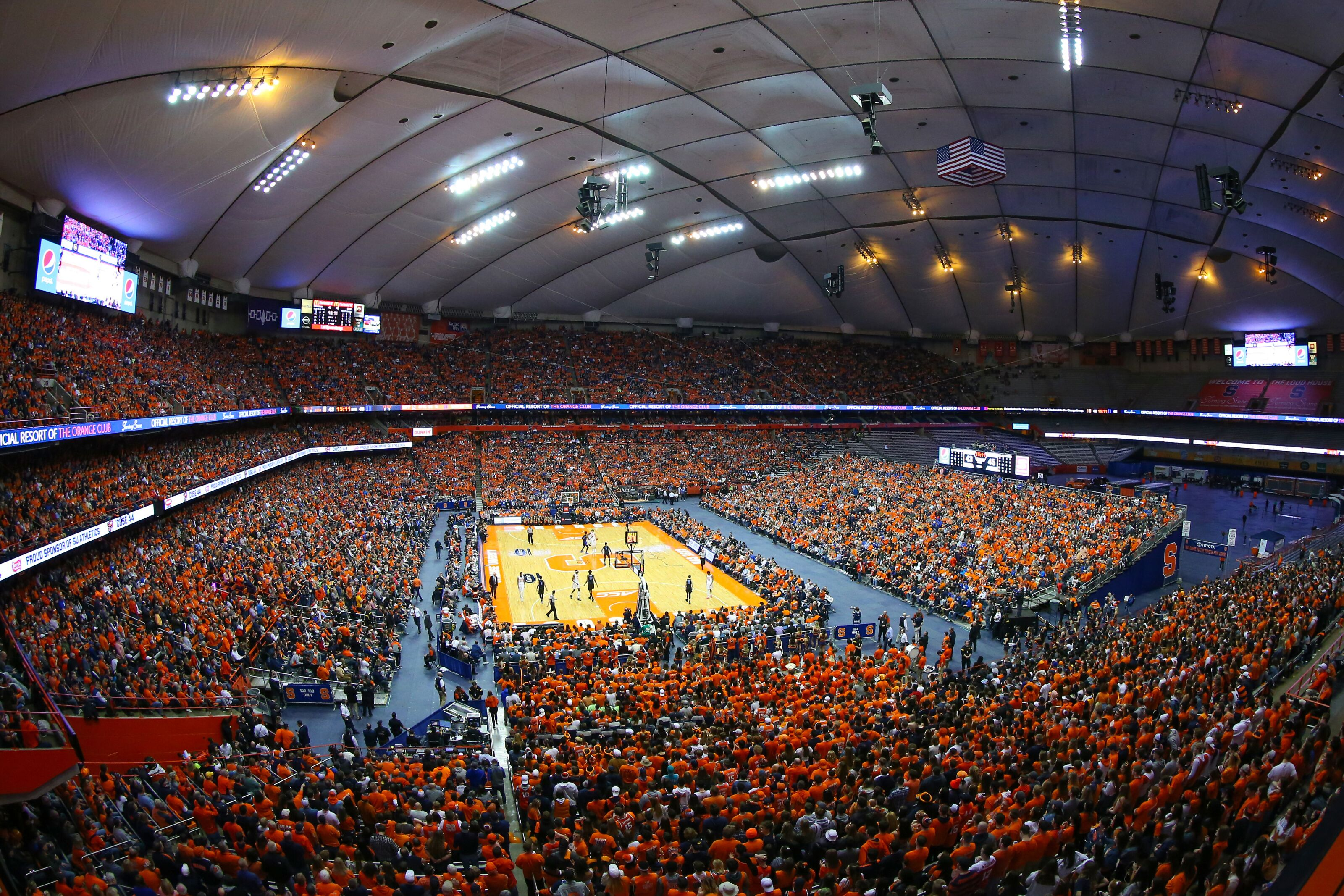 Syracuse University Handling Carrier Dome Name Change All Wrong