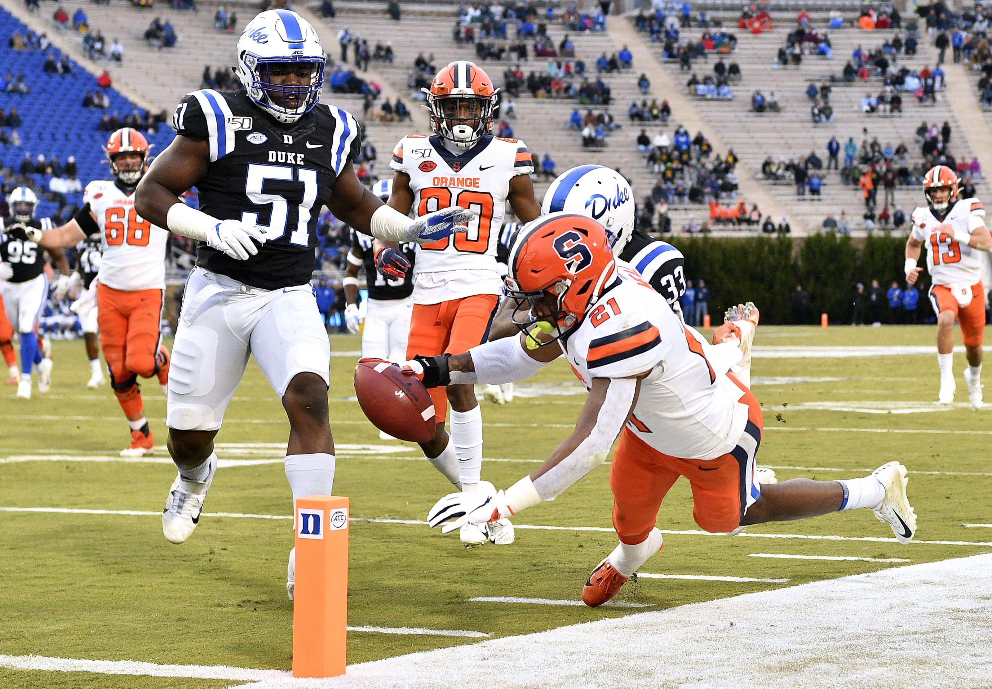 Syracuse Football: Orange come alive with splash plays in huge Duke win