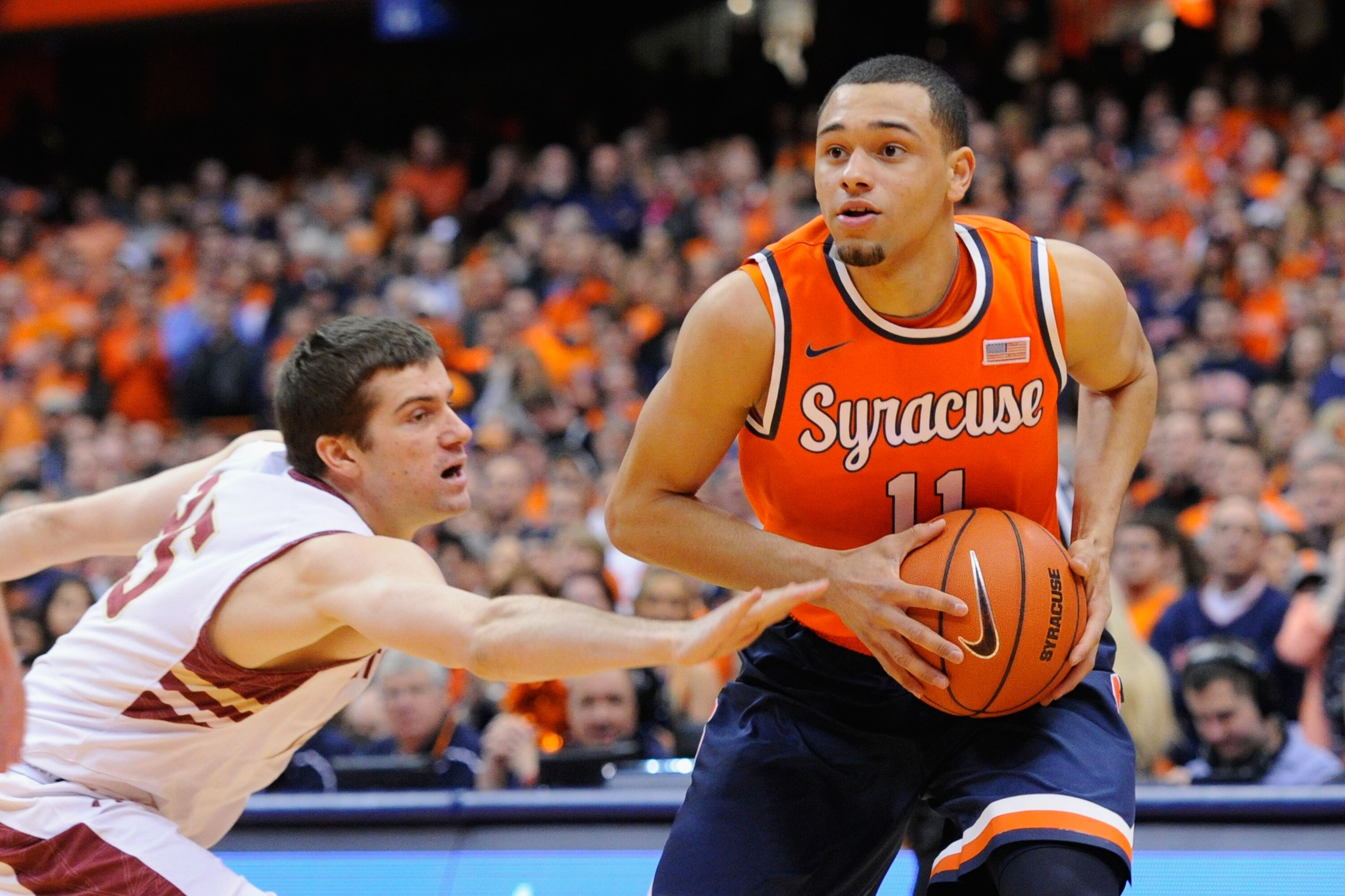 Syracuse Basketball Orange Battles Boston College Tonight