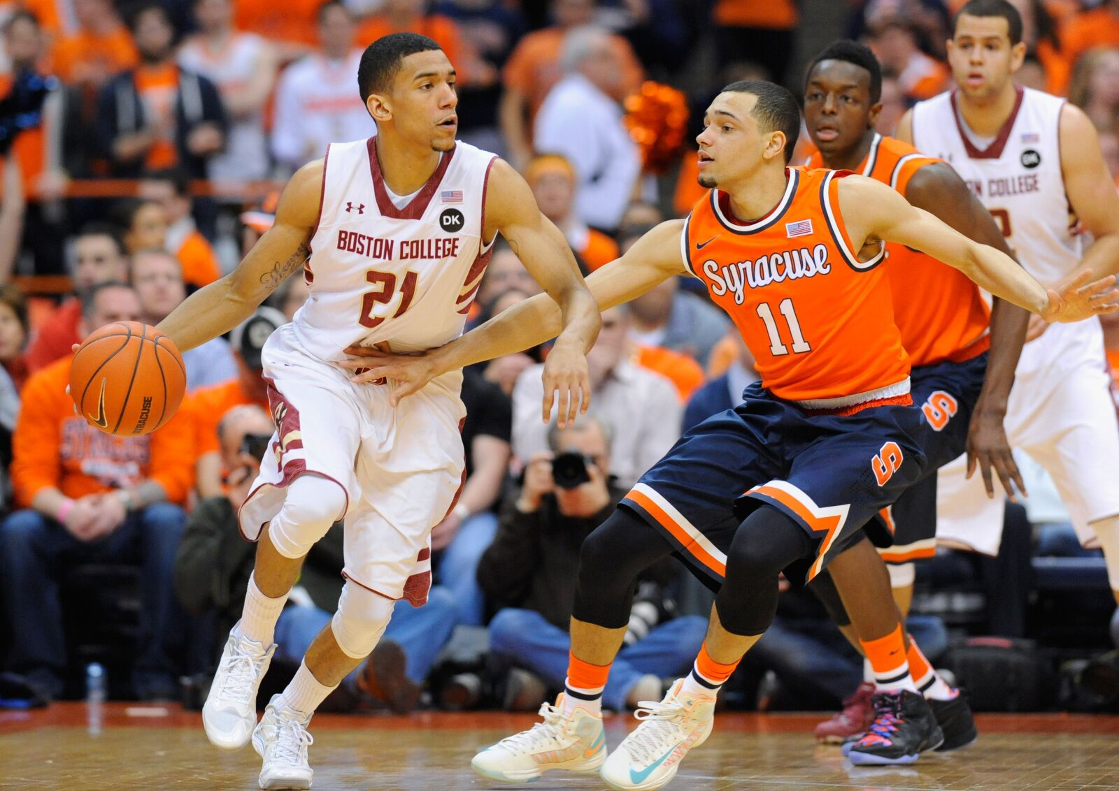 Syracuse Basketball Predictions For Acc Road Tilt Vs Boston College
