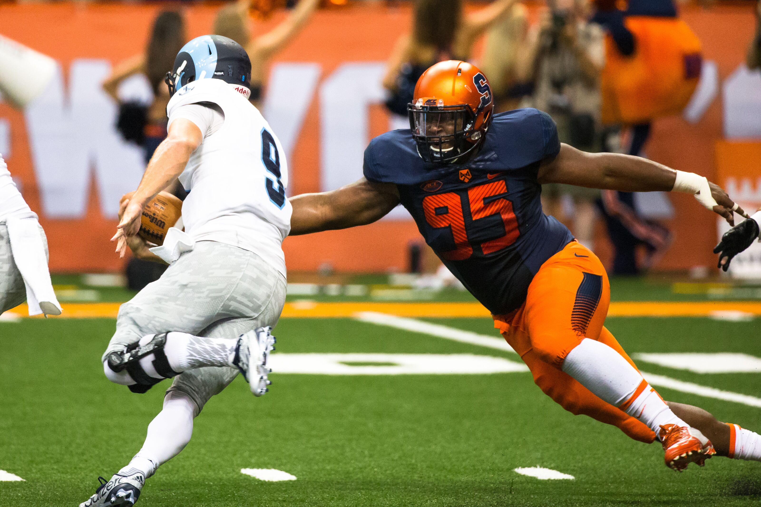 Syracuse Football: New York Giants select Chris Slayton in the 7th round