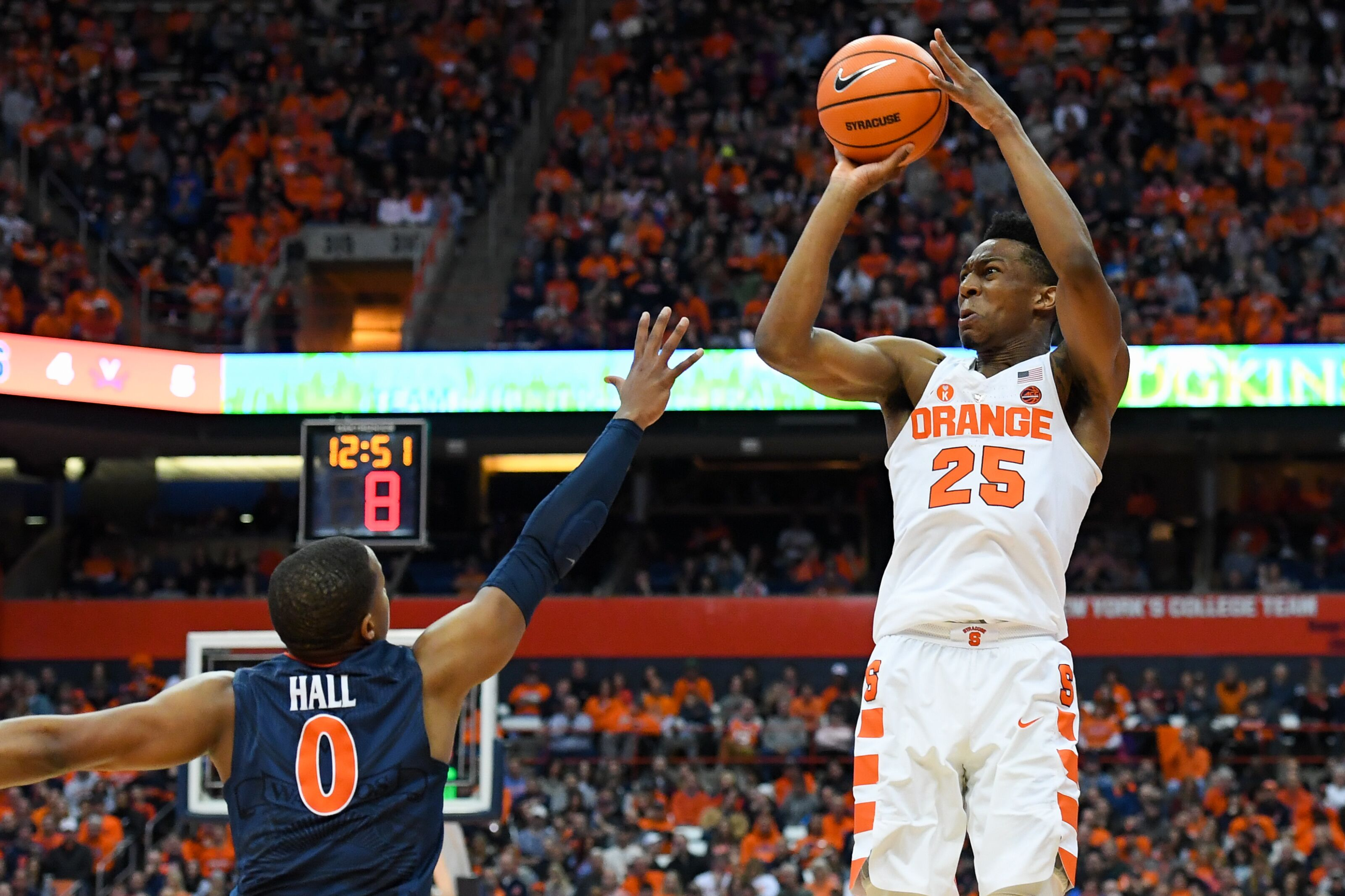 Syracuse Basketball Orange Regarded As A Top 25 Shooting Team