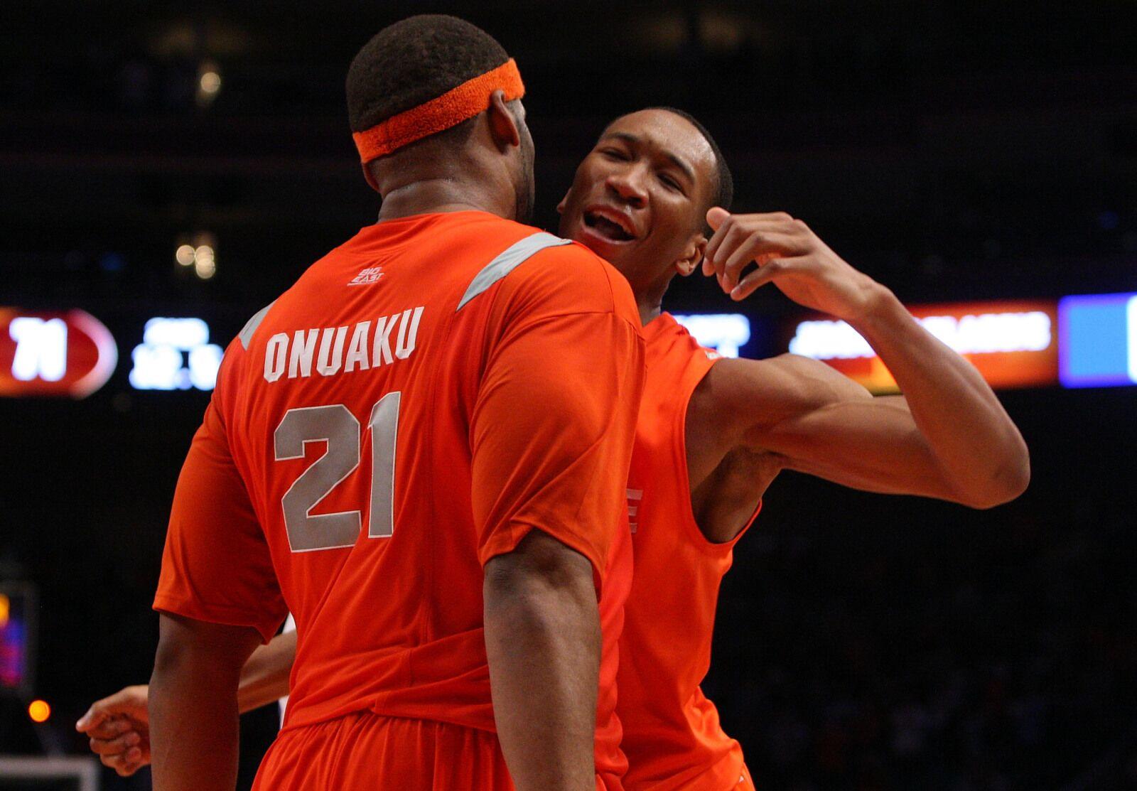 Syracuse Basketball: Boeheim's Army selects Arinze Onuaku, Jordan Crawford