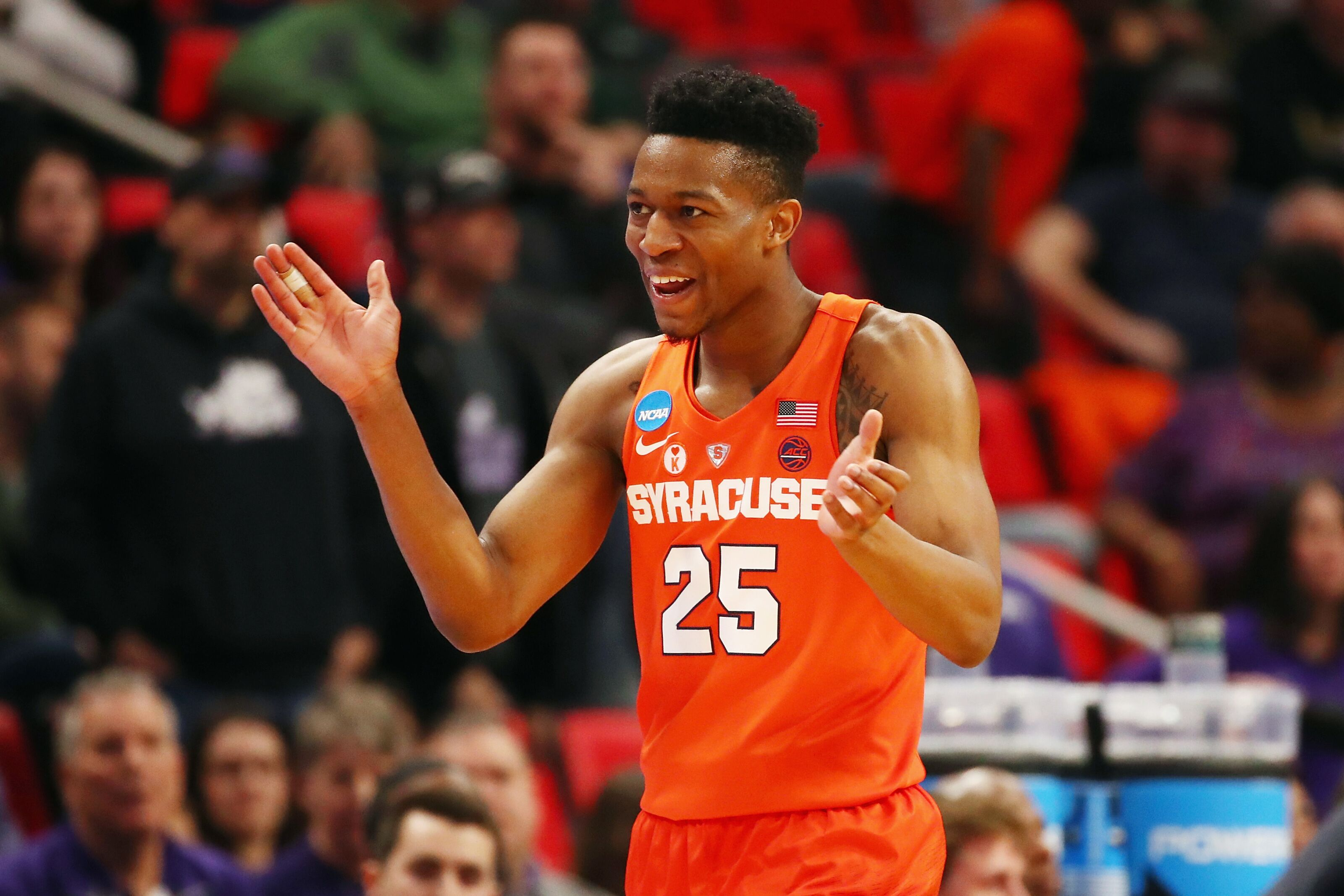 Syracuse Basketball Tyus Battle Continues To Pique Nba Interest