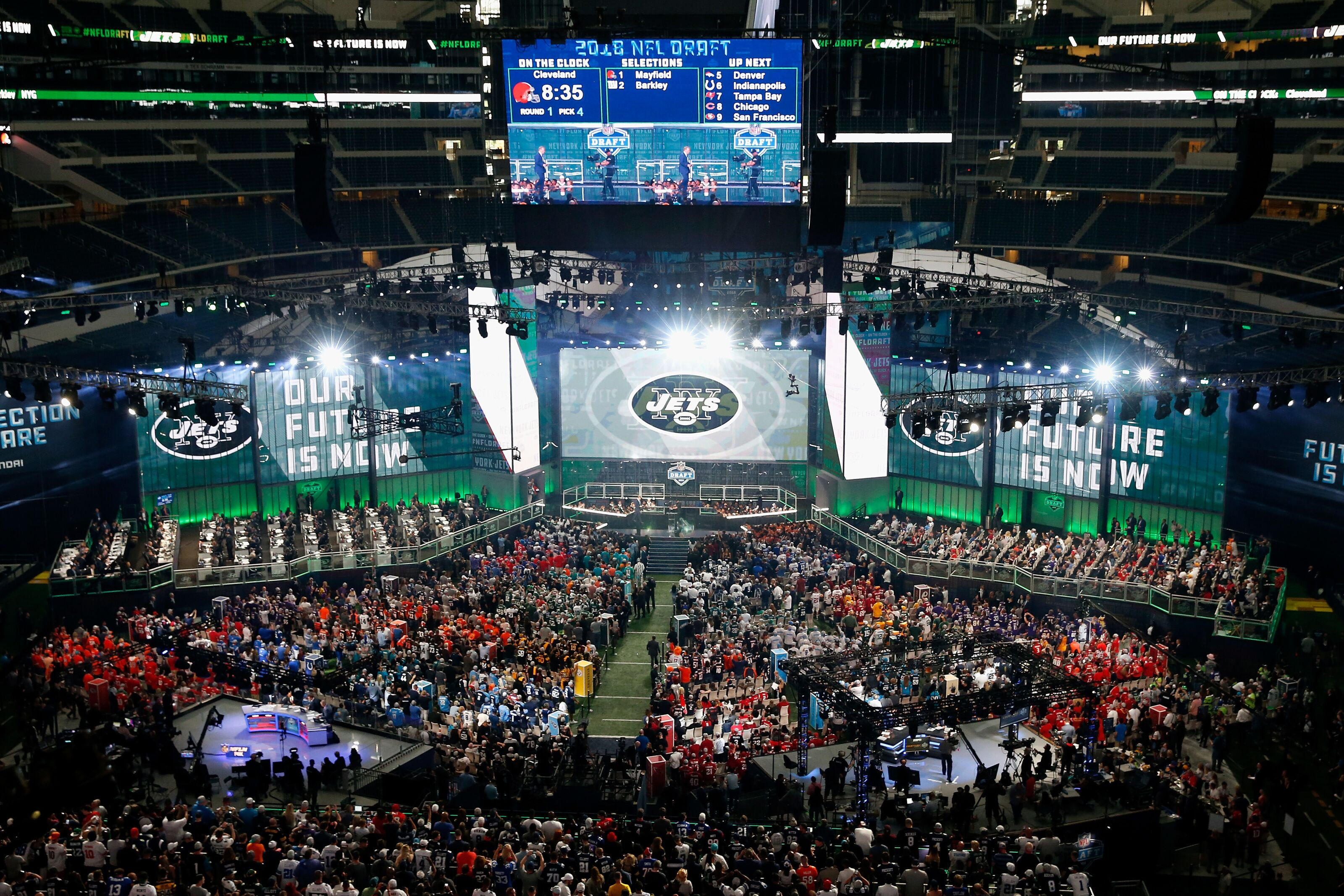 The New York Jets were sole reason Zaire Franklin got drafted in 2018