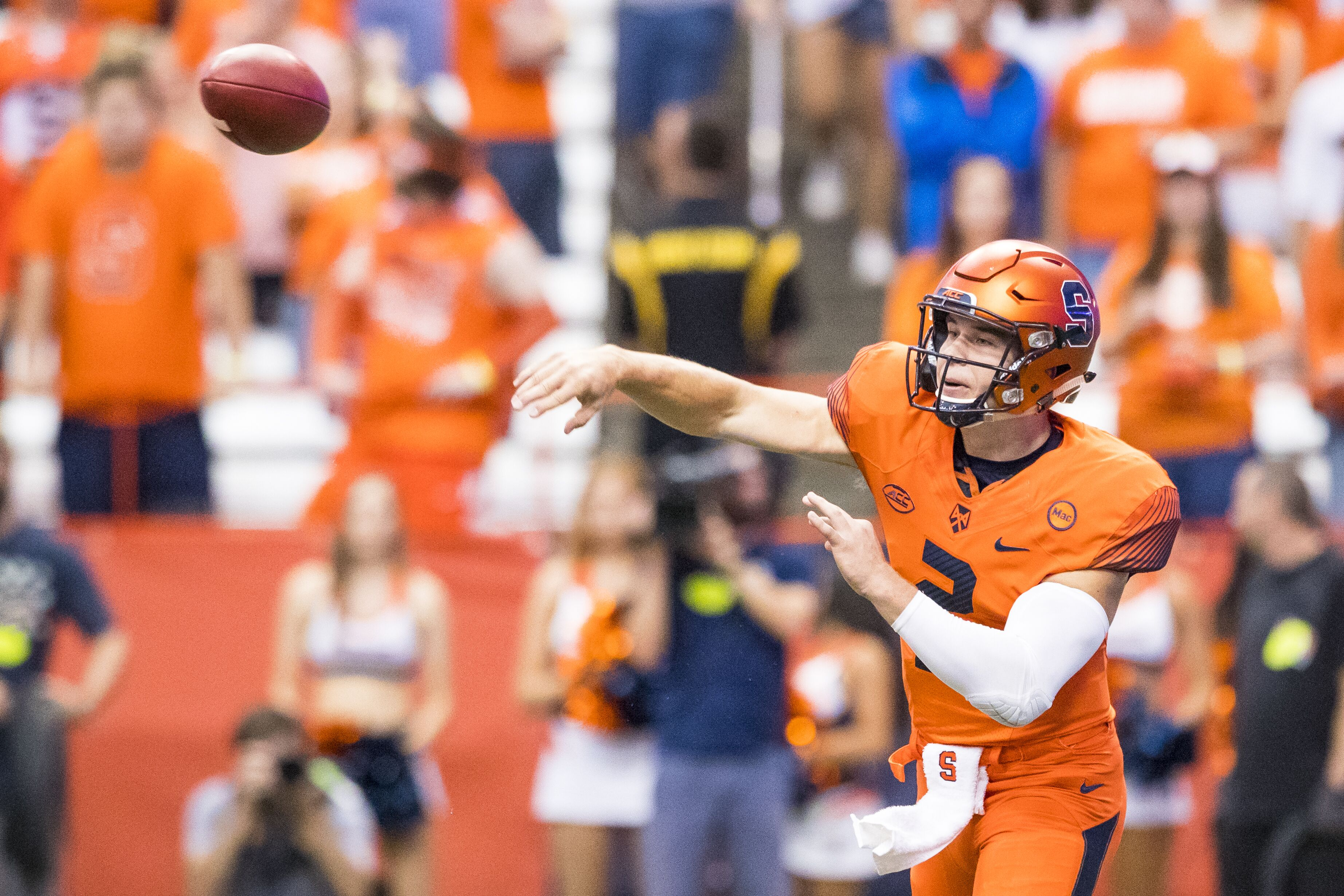 Syracuse Football Strong Second Half Gives Orange Win Over Pitt
