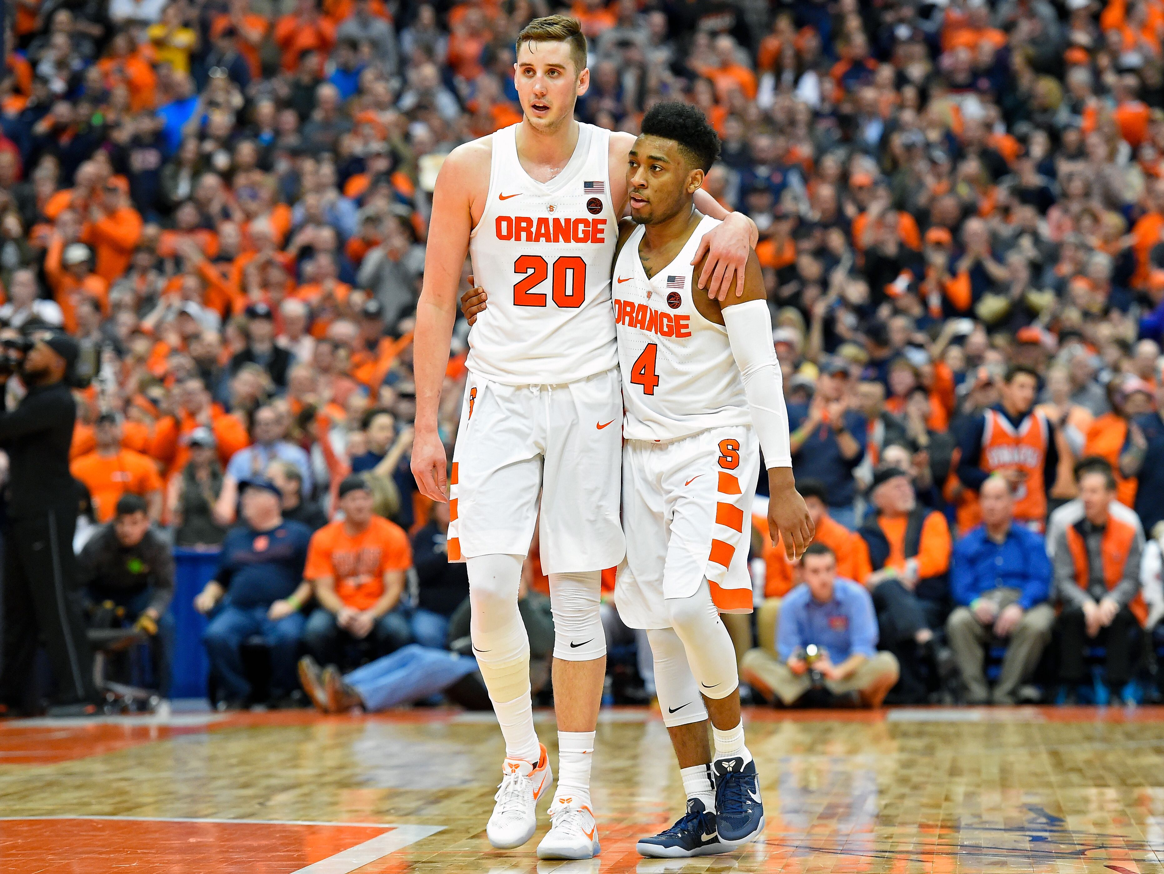 Syracuse Basketball: Tyler Lydon And John Gillon Battled