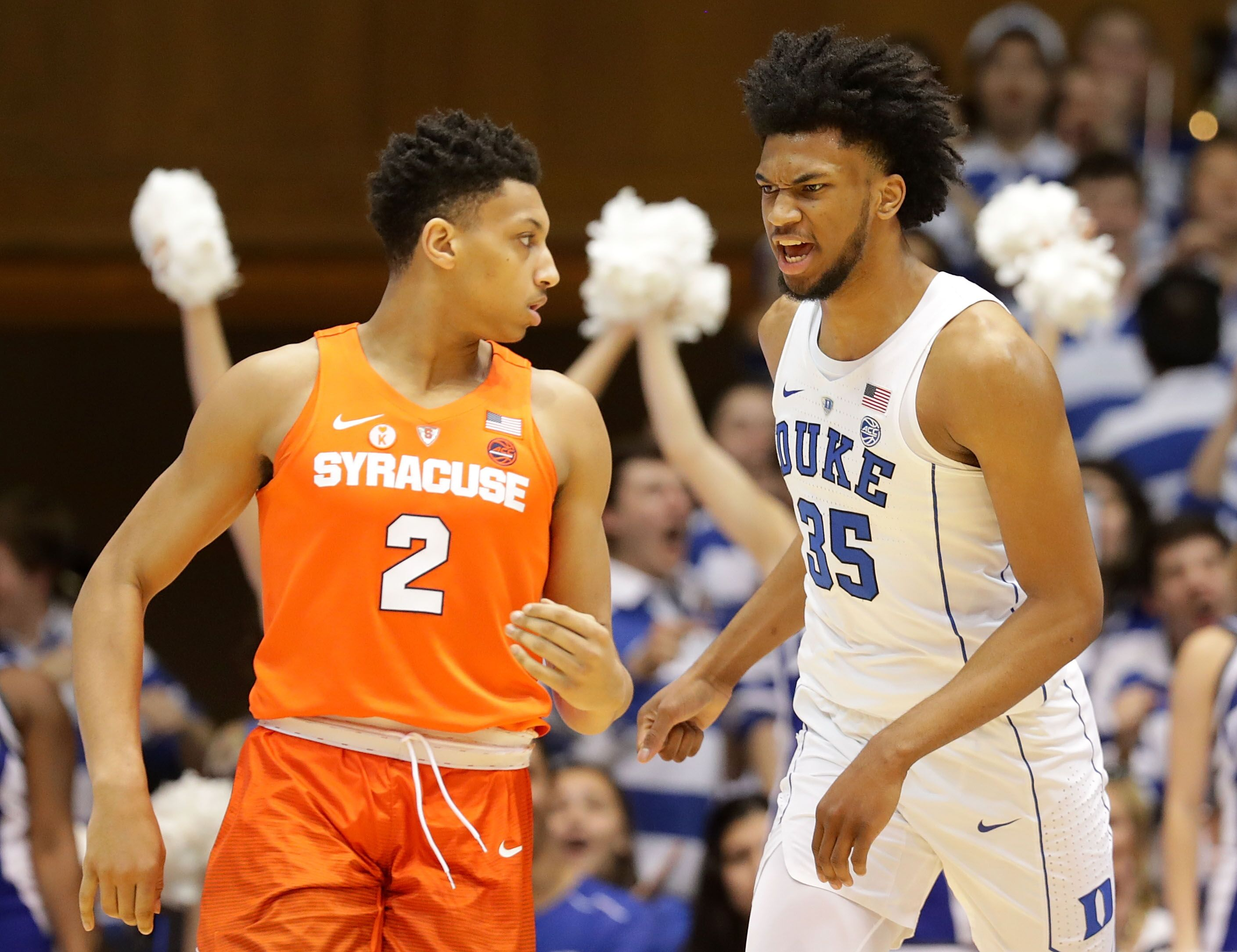 Syracuse Basketball In The Sweet 16 Versus Duke, By The