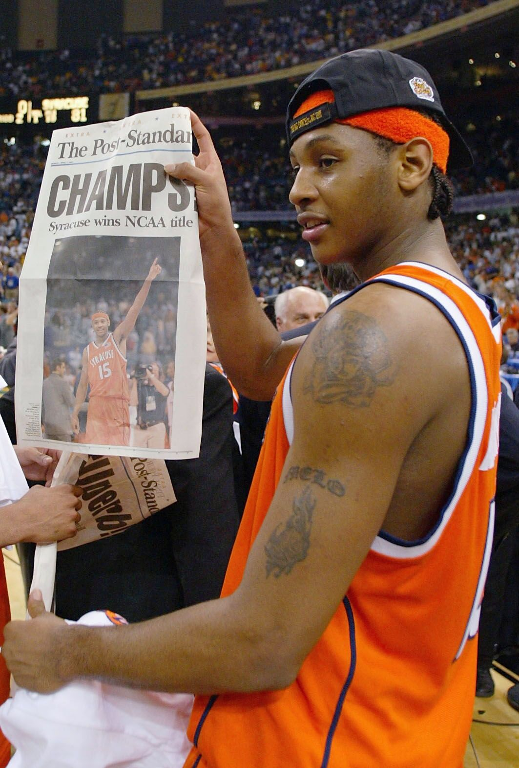 e71f85cafc4 Syracuse Basketball Legends Series: Inside look at Carmelo Anthony ...
