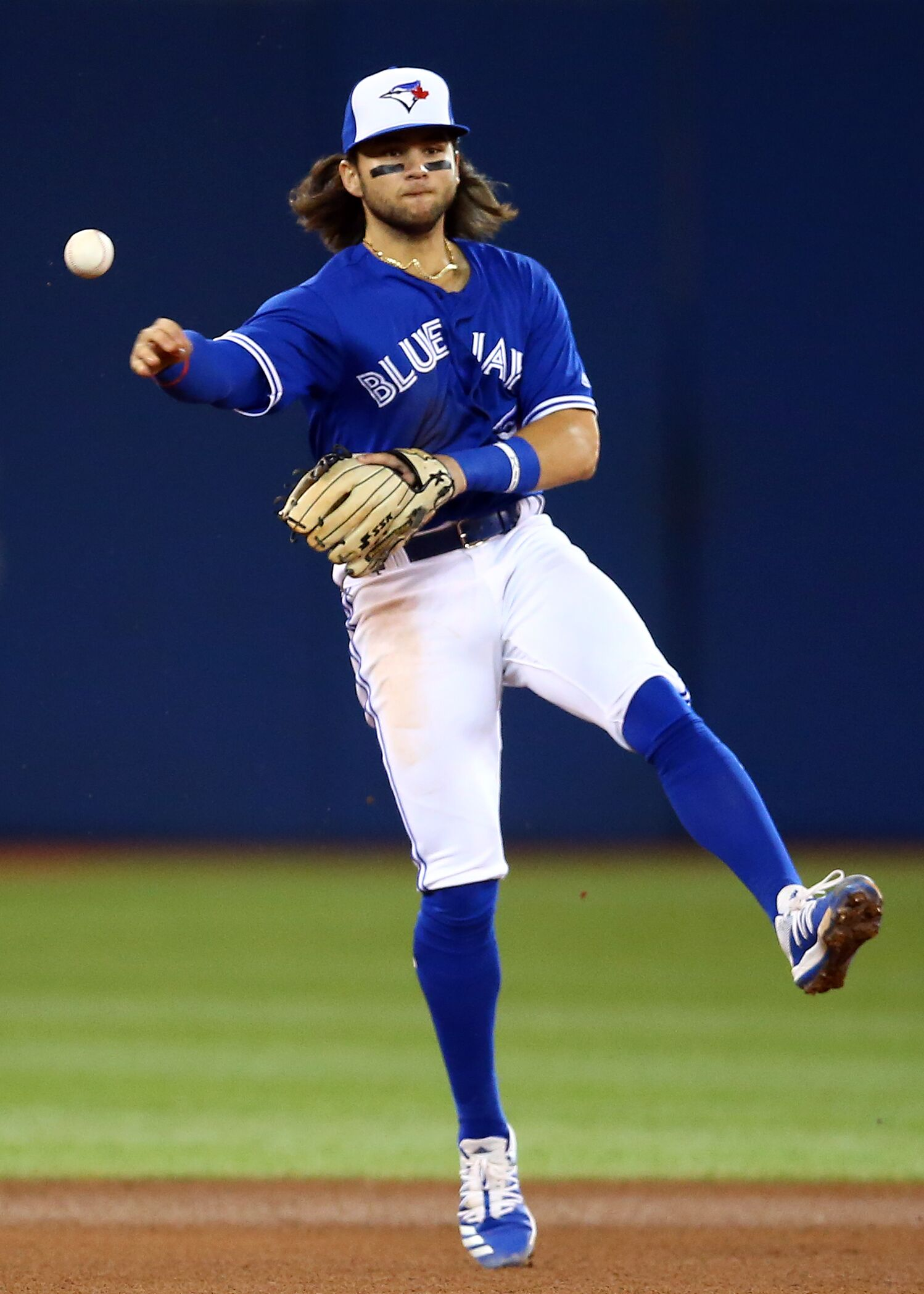 Blue Jays: Why was Bo Bichette allowed to stay in the game?