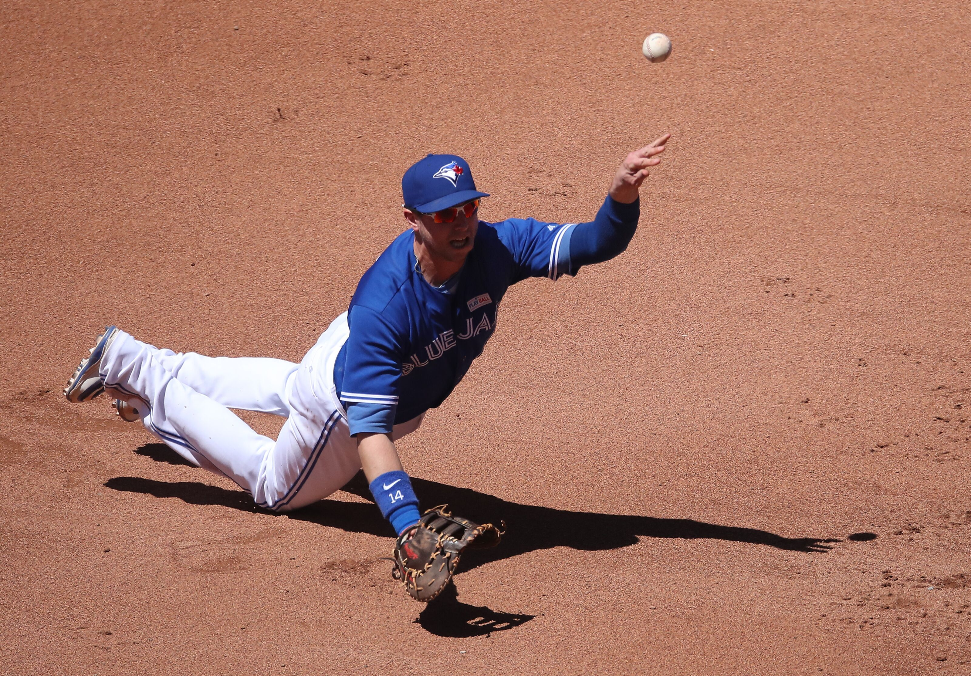 Blue Jays: Justin Smoak edged out by Oakland's Matt Olson for AL Gold Glove