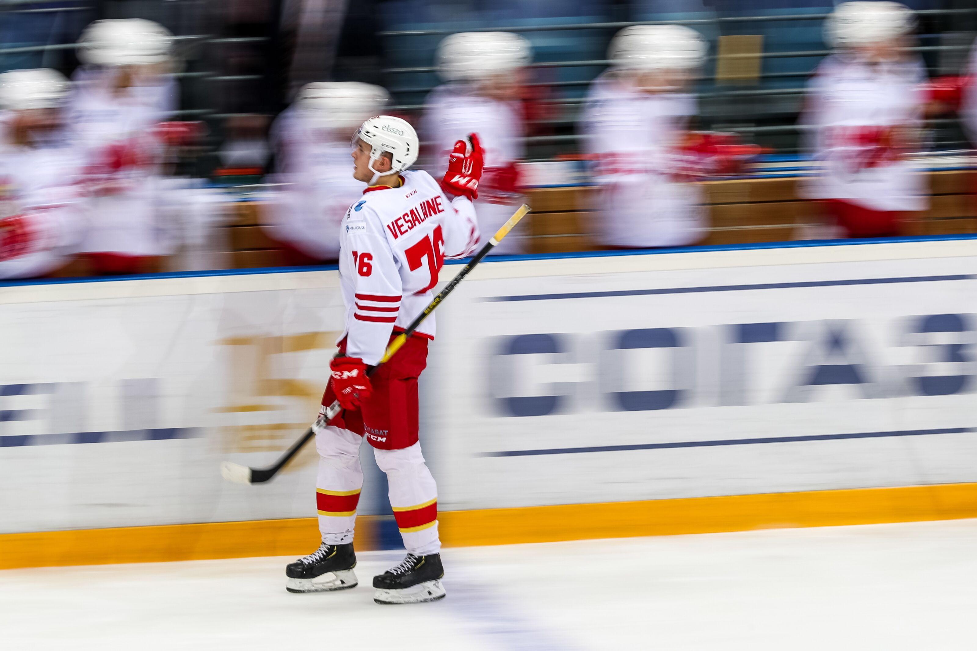 The Winnipeg Jets Bring Kristian Vesalainen Stateside Again