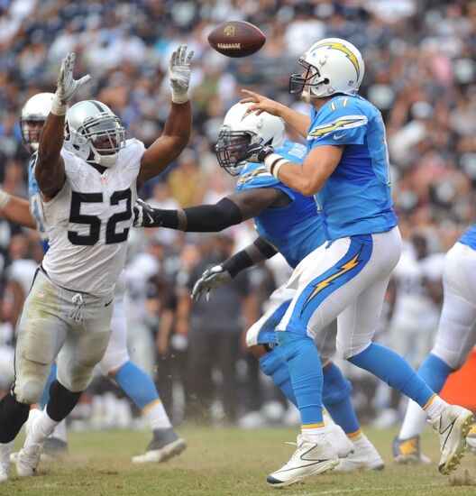 San Diego Chargers First Round Draft Picks: Game Details: Oakland Raiders Vs. San Diego Chargers