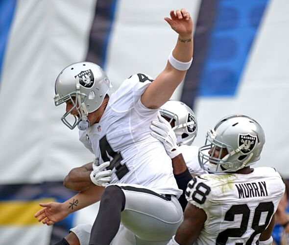 San Diego Chargers Backup Quarterback: VIDEO: Highlights From Raiders @ Chargers