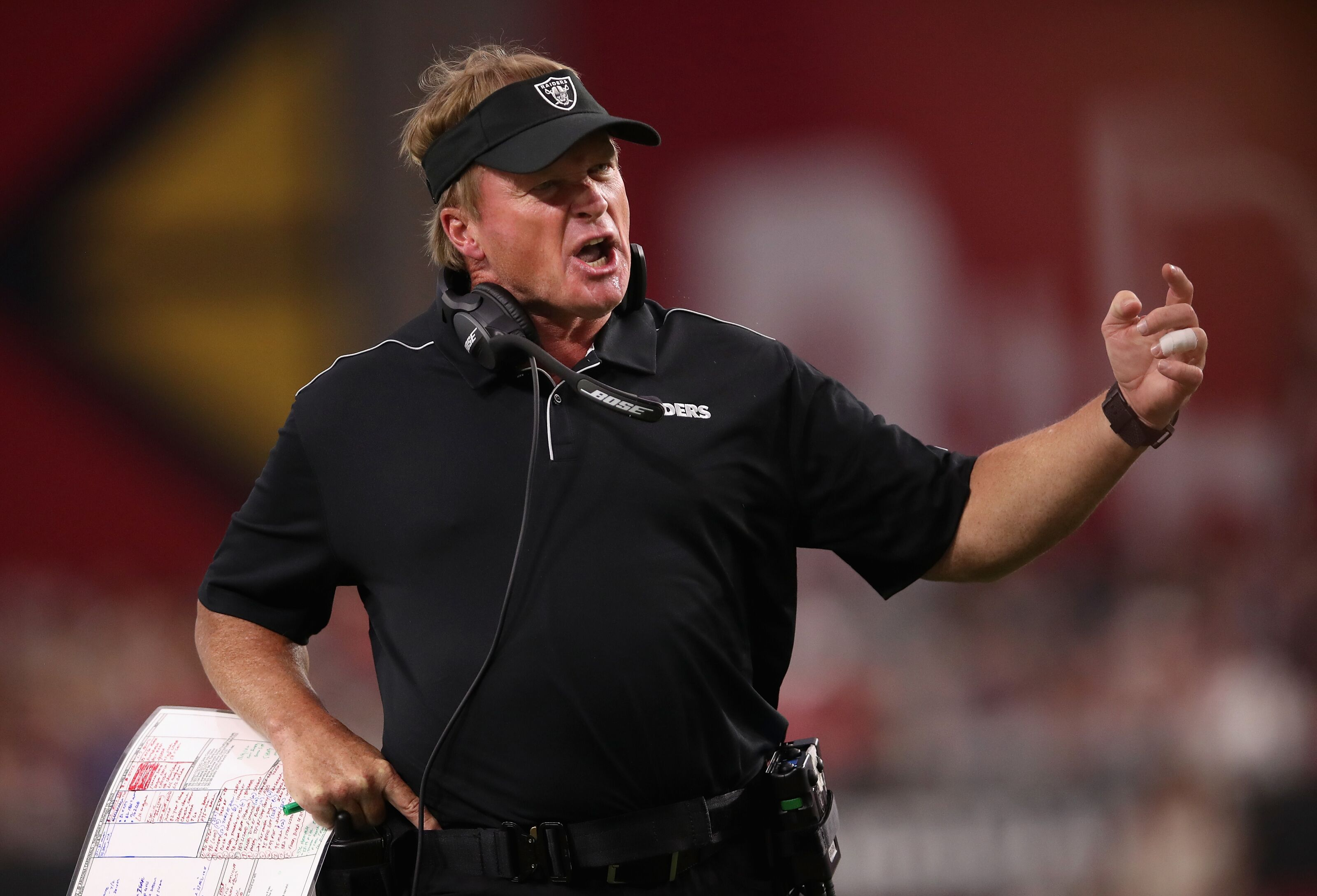 Oakland Raiders: Jon Gruden shows he is a mastermind in the red zone