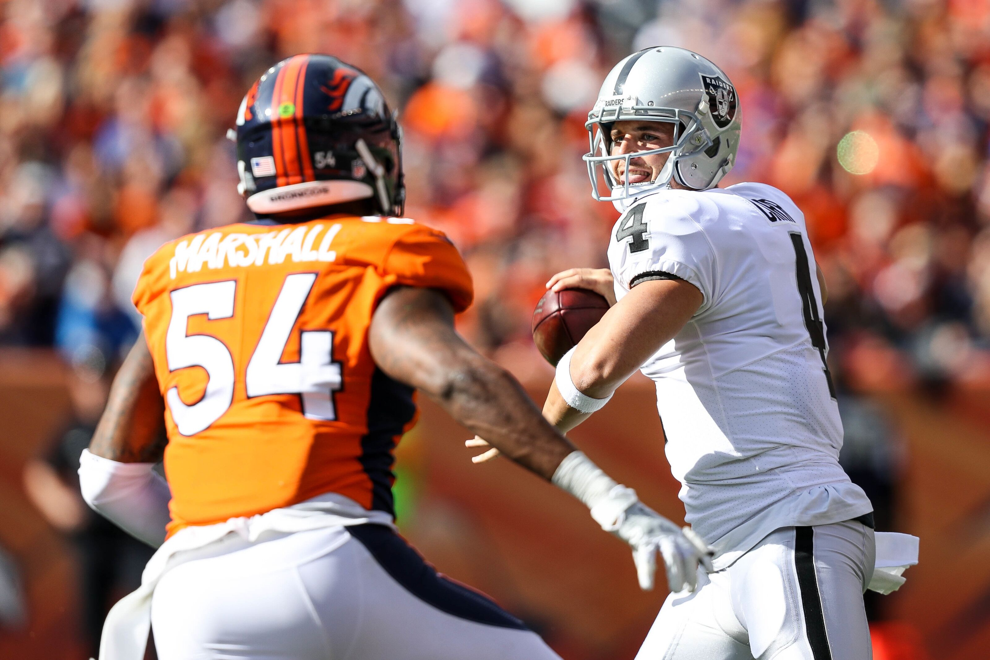 Free Agency: Should the Oakland Raiders try for Brandon Marshall?