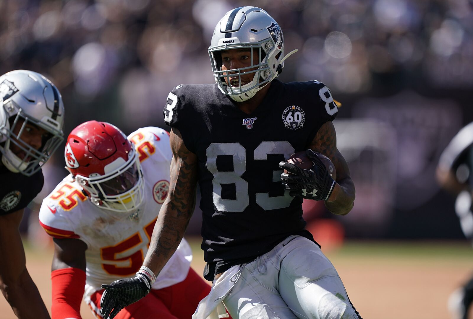 Oakland Raiders must find Darren Waller early and often