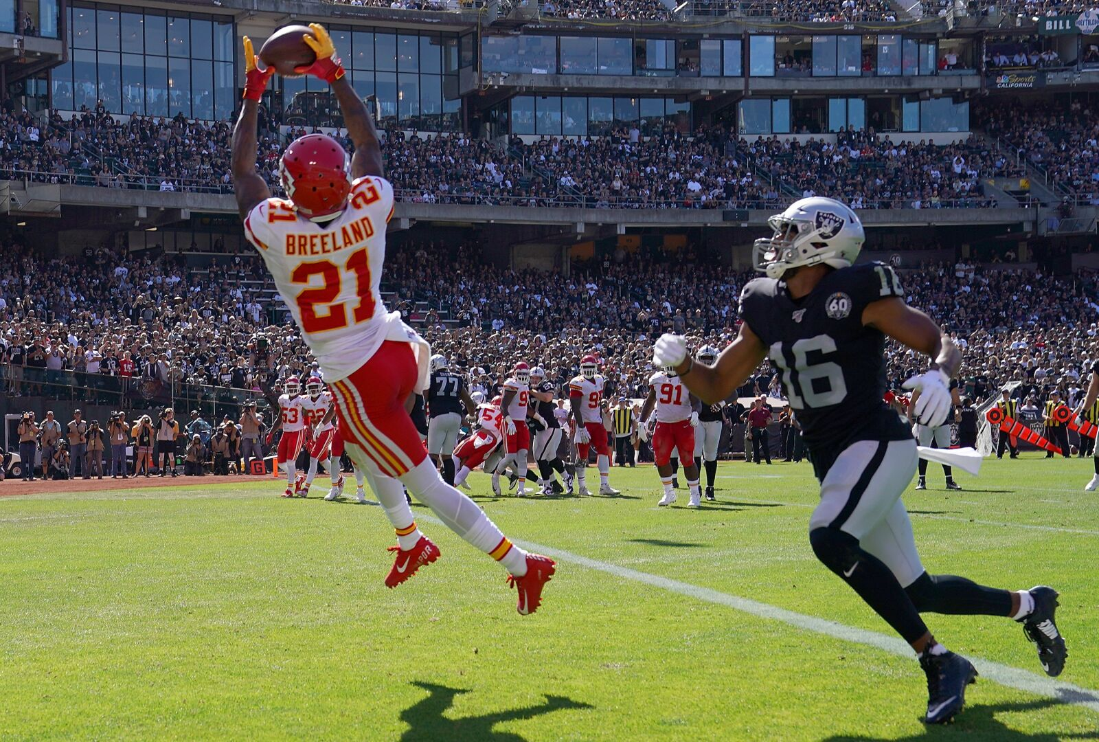 Looking back: Oakland Raiders had chances against Kansas City