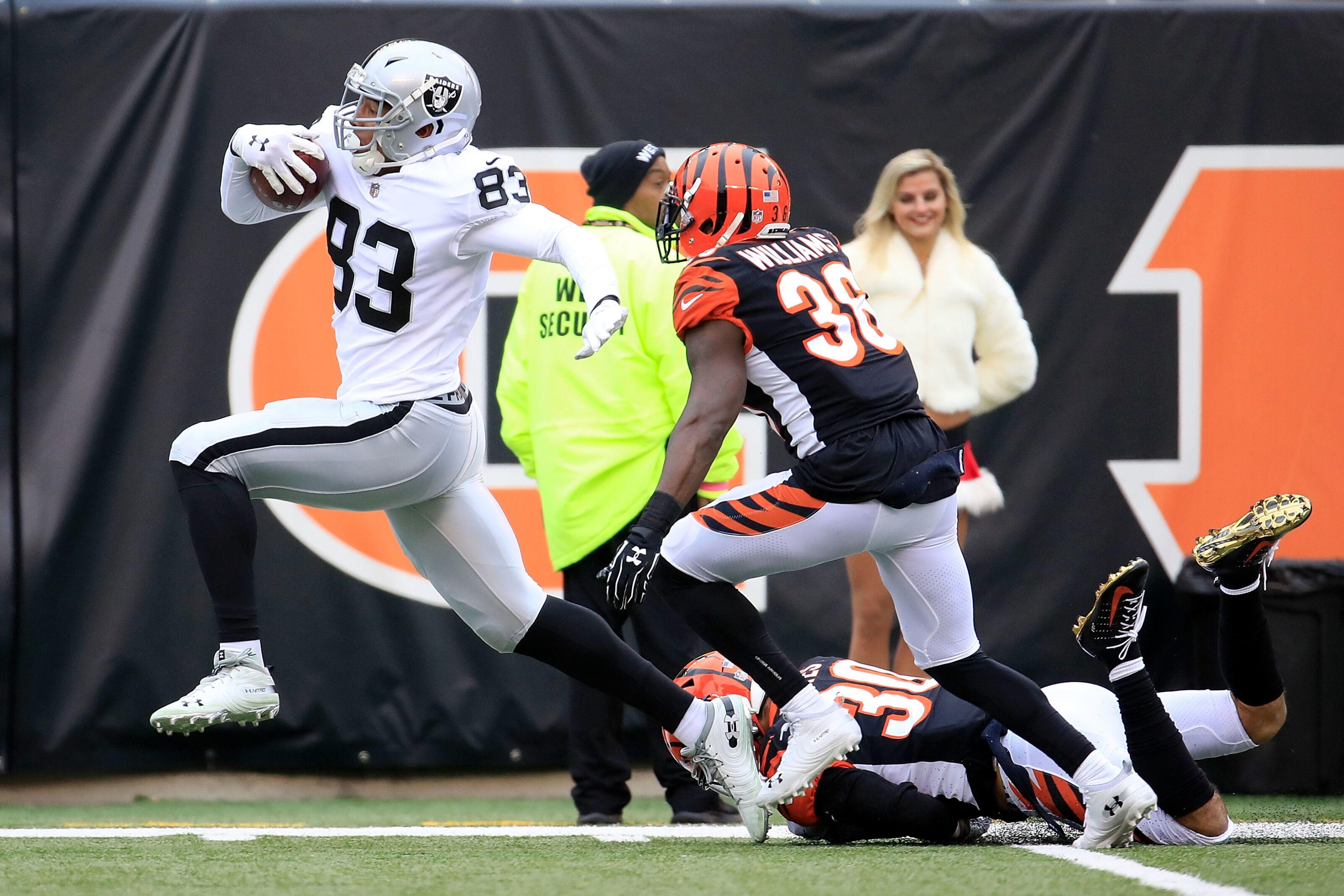 Tight end should not be an issue for the Oakland Raiders in 2019
