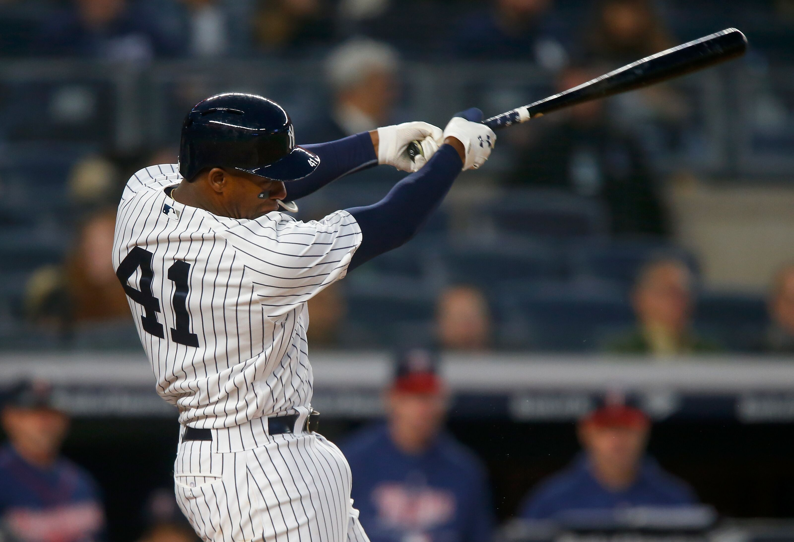 76f66feb9 Yankees Miguel Andujar on fire at the plate: Waiver Wire Add?