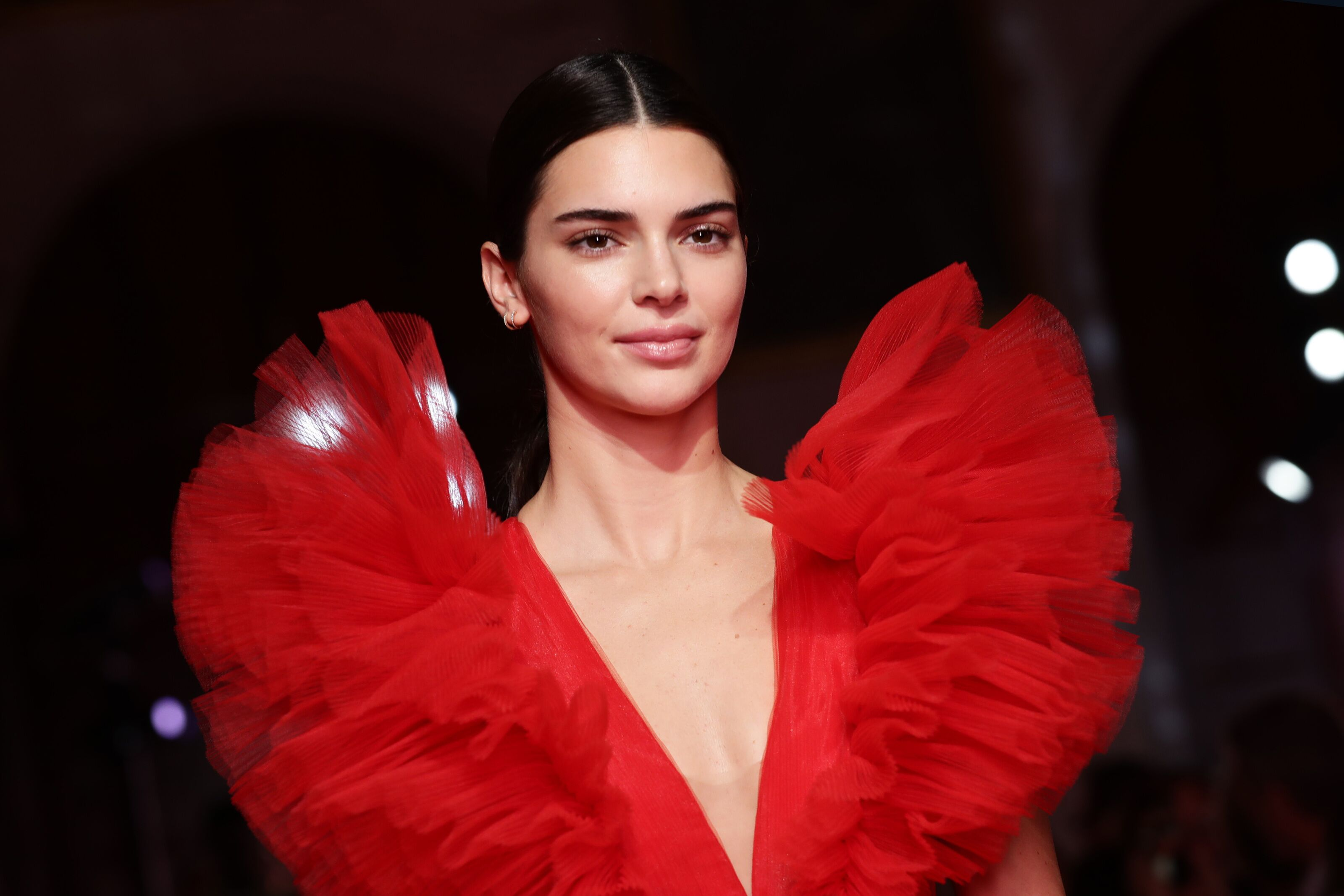 Kendall Jenner in new Giambattista Valli x H&M collection