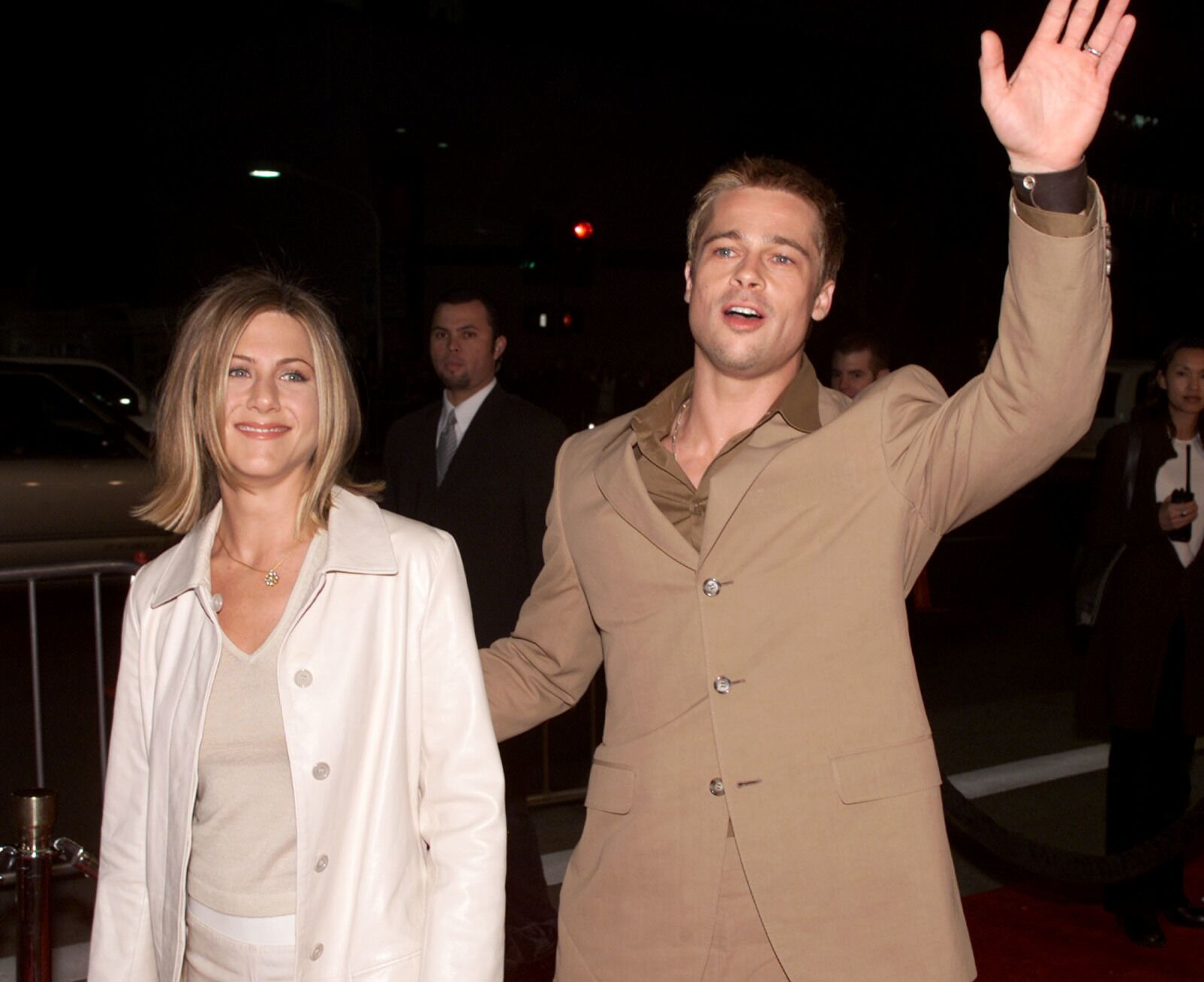 Jennifer Aniston, Brad Pitt rumors swirl as Angelina Jolie's ex cuddles with actress