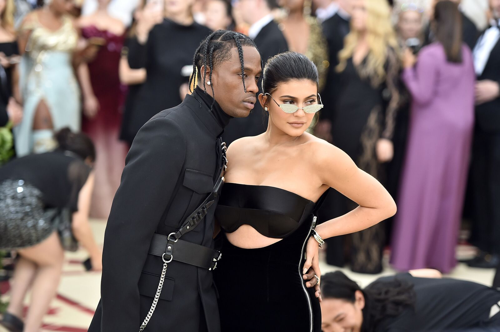 Kylie Jenner bares butt, toned thighs, long legs in leotard on Instagram amid new Travis Scott cheating rumors