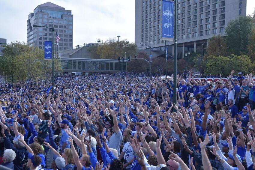 Kansas City Royals Live Parade
