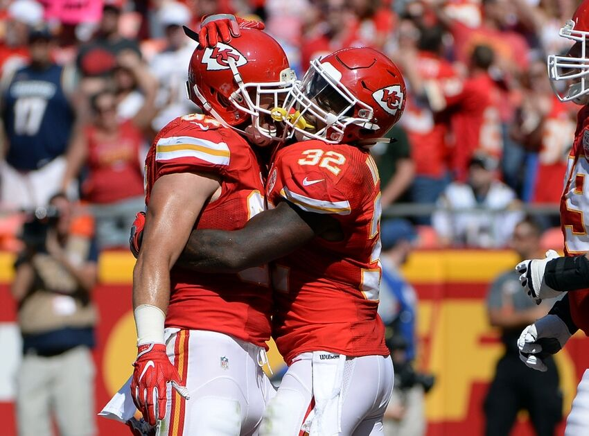 Kc Chiefs Tied For First In Afc West After Week One