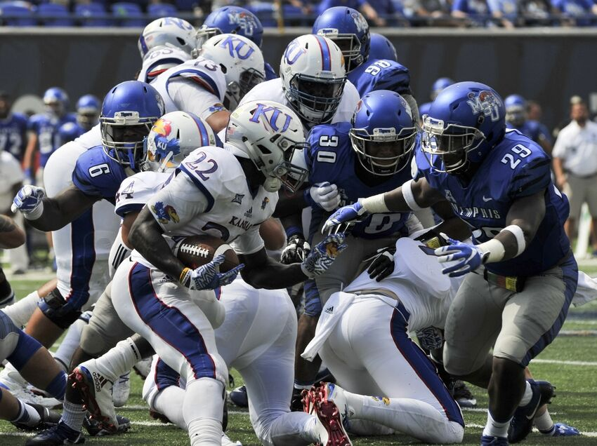 Ku Football Good Bad Ugly Against Memphis Tigers